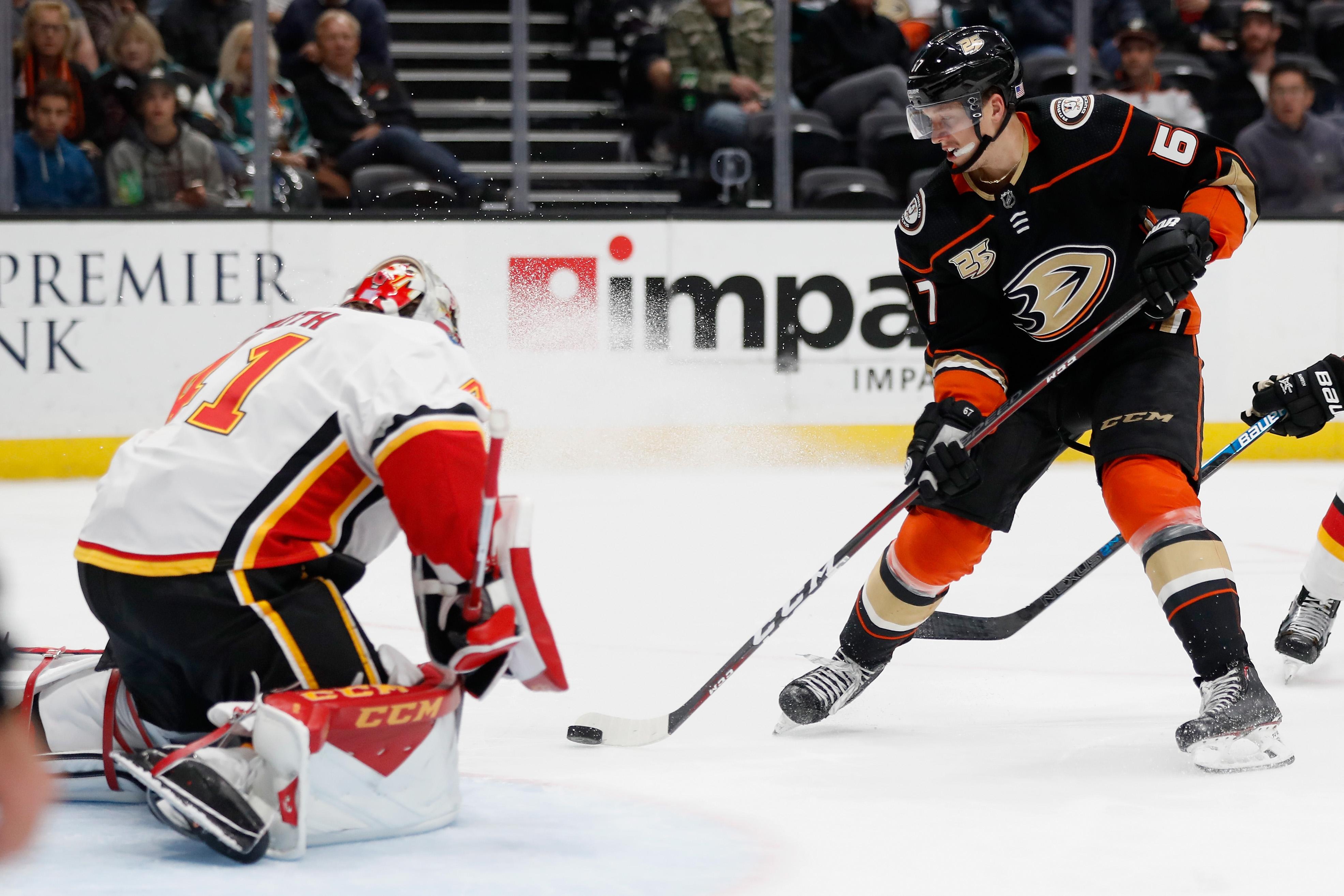 Calgary Flames v Anaheim Ducks