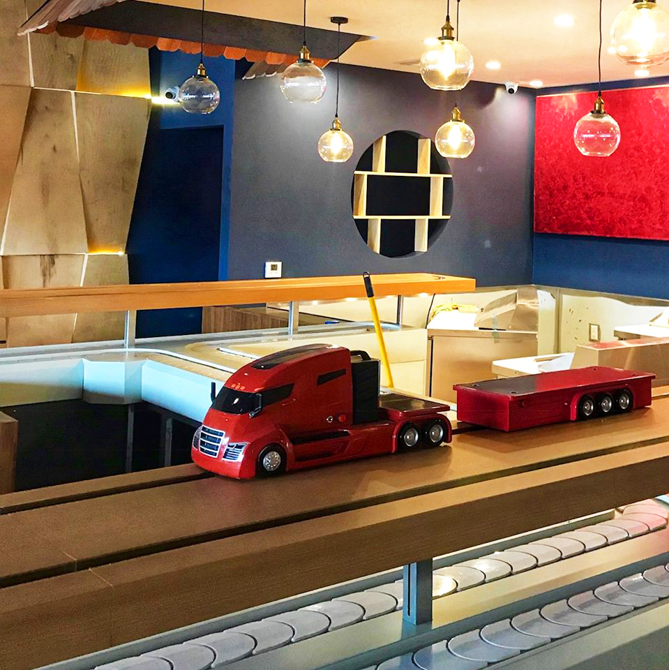 Kaizen Revolving Sushi Arrives This Month on the Westside