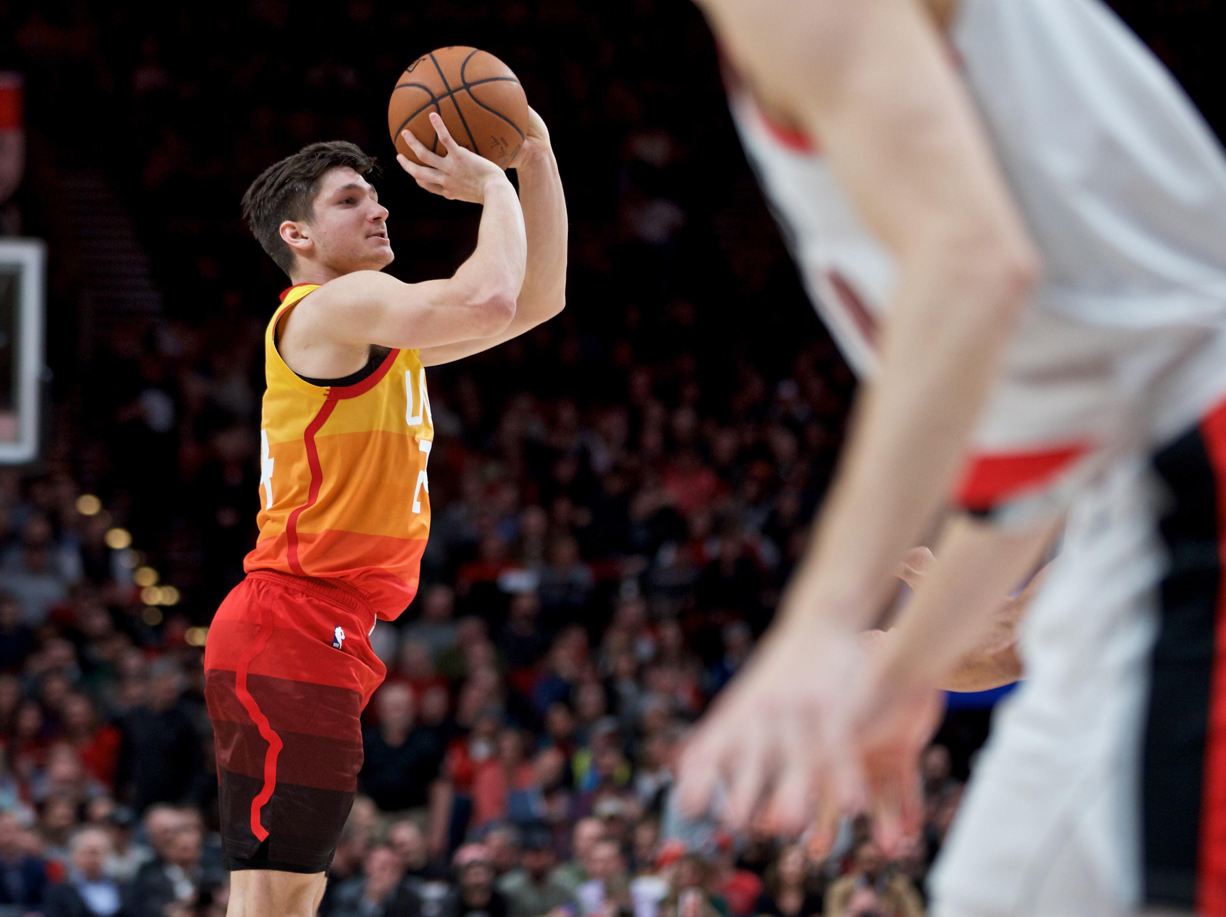 NBA: Utah Jazz at Portland Trail Blazers