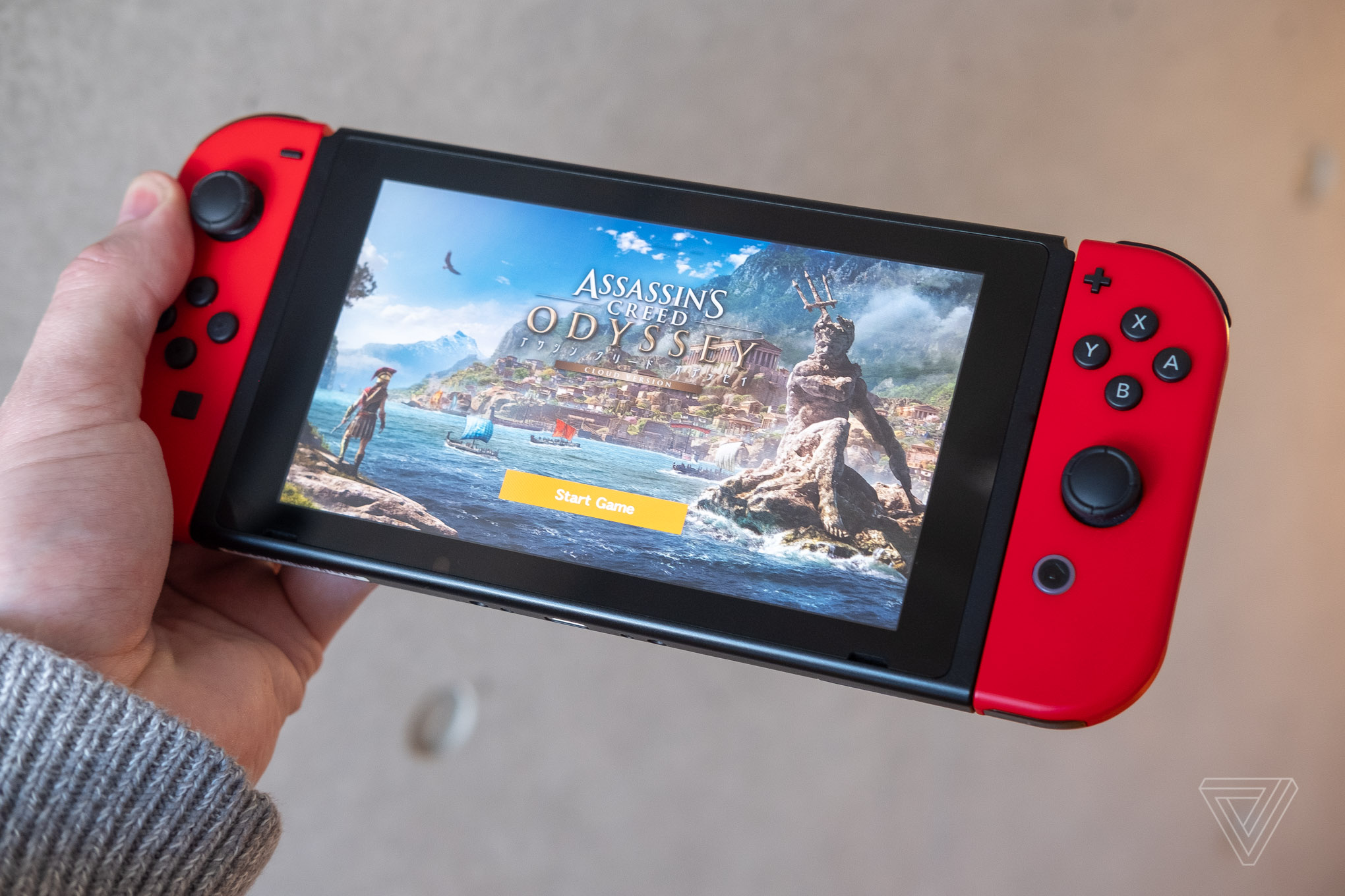 The Nintendo Switch in Japan offers a peek at the cloud