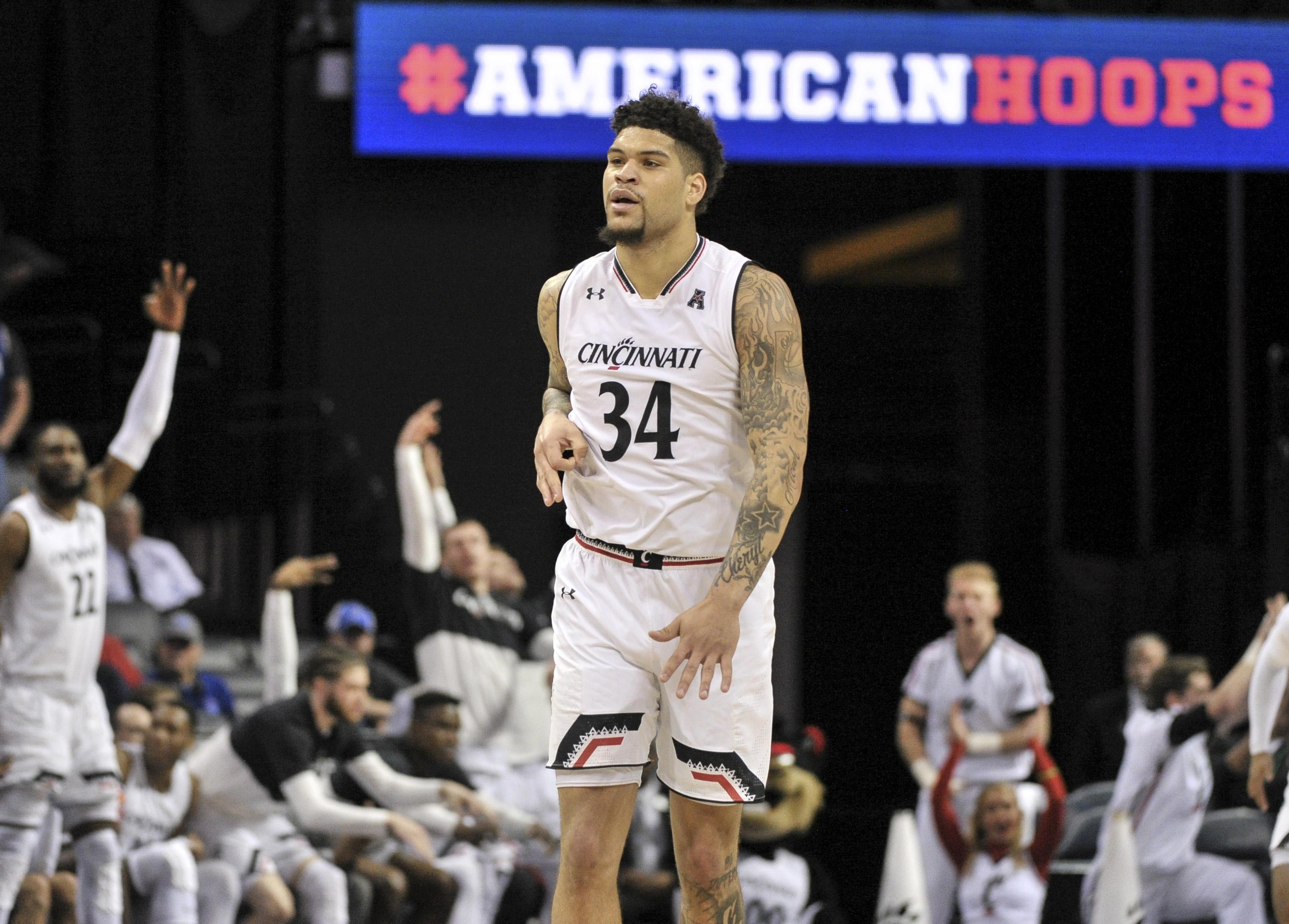 NCAA Basketball: American Athletic Conference Tournament-Wichita State vs Cincinnati