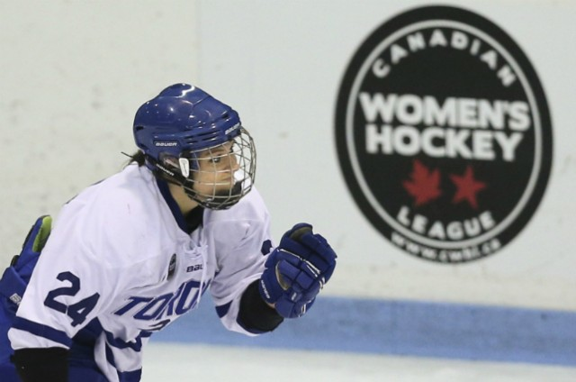 Natalie Spooner of the Toronto Furies, 2014-15 season