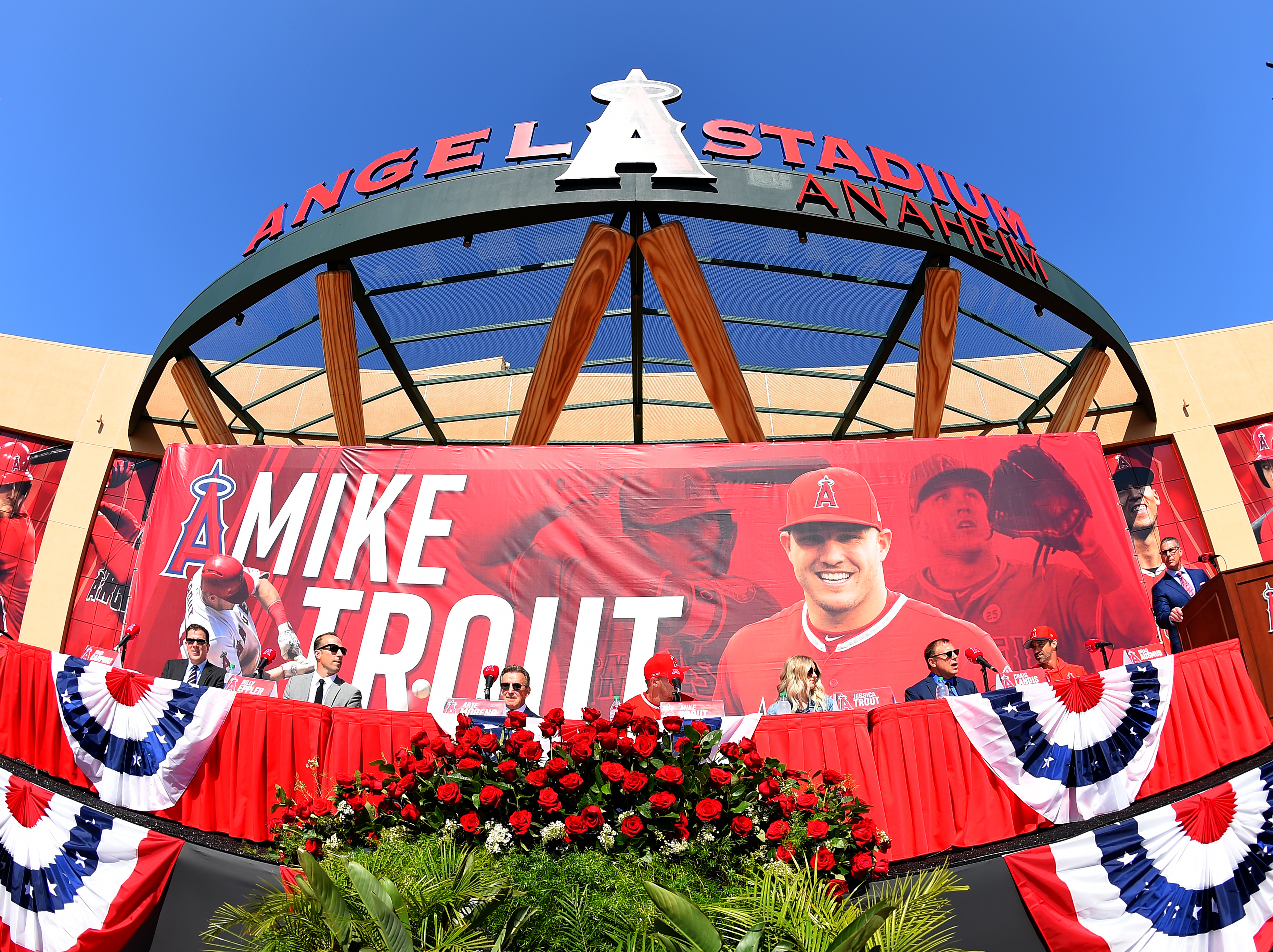 Los Angeles Angels of Anaheim Announce Mike Trout Contract Extension