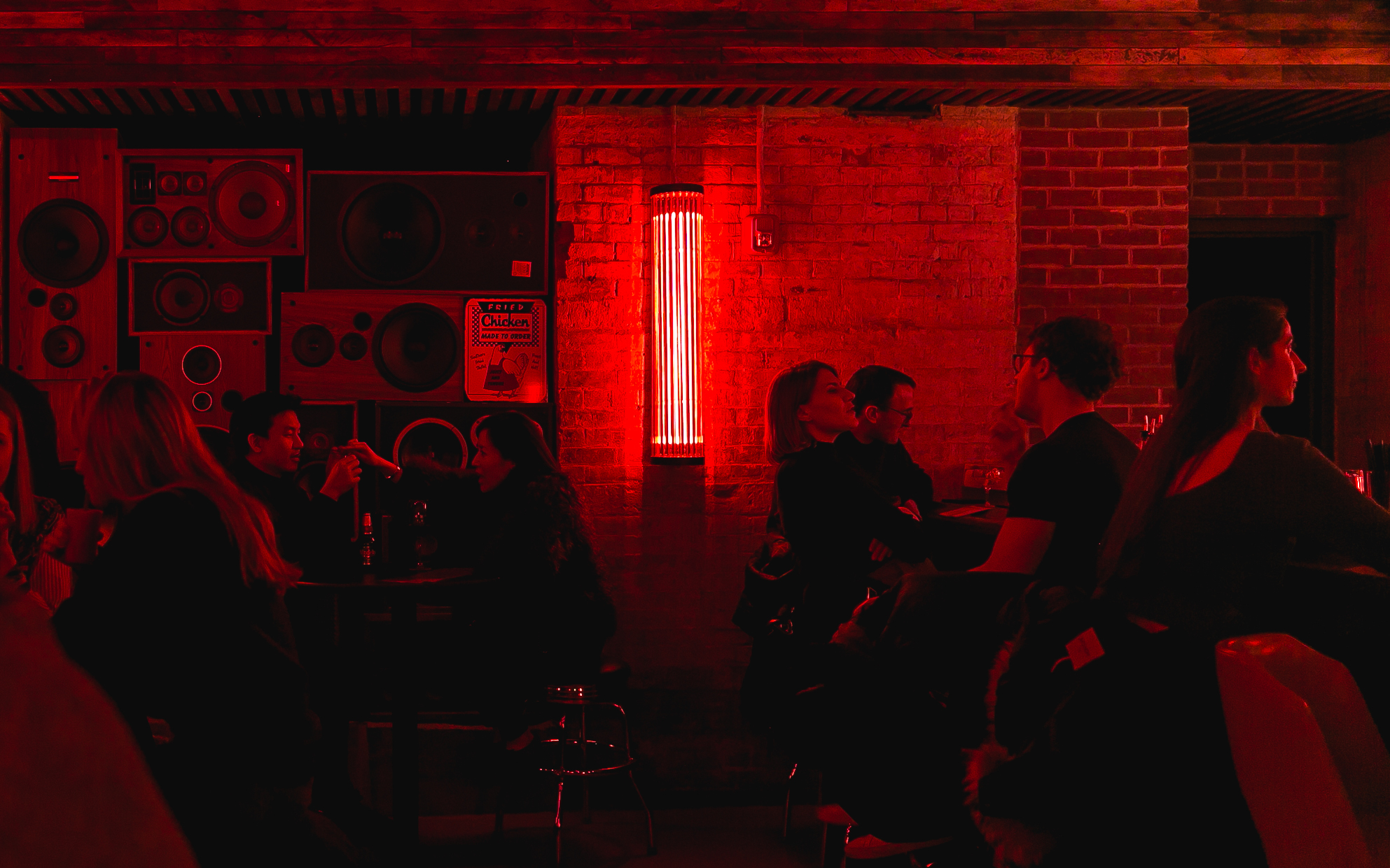 Au Cheval's basement bar