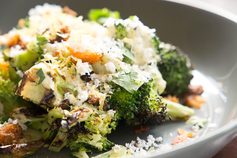 """Broccoli alla grillia """"Caesar"""""""