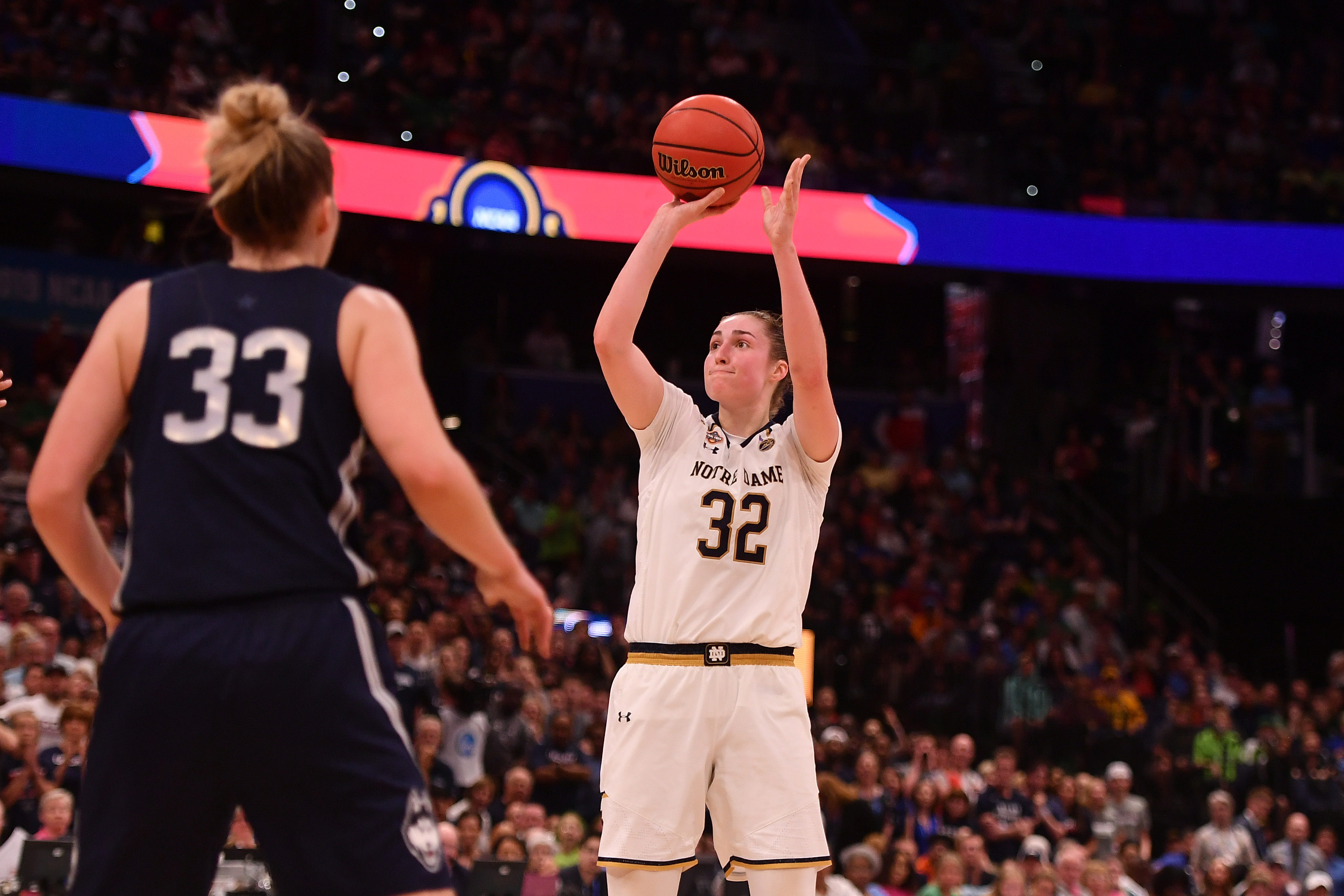 NCAA Womens Basketball: Final Four-Semifinals-Connecticut vs Notre Dame