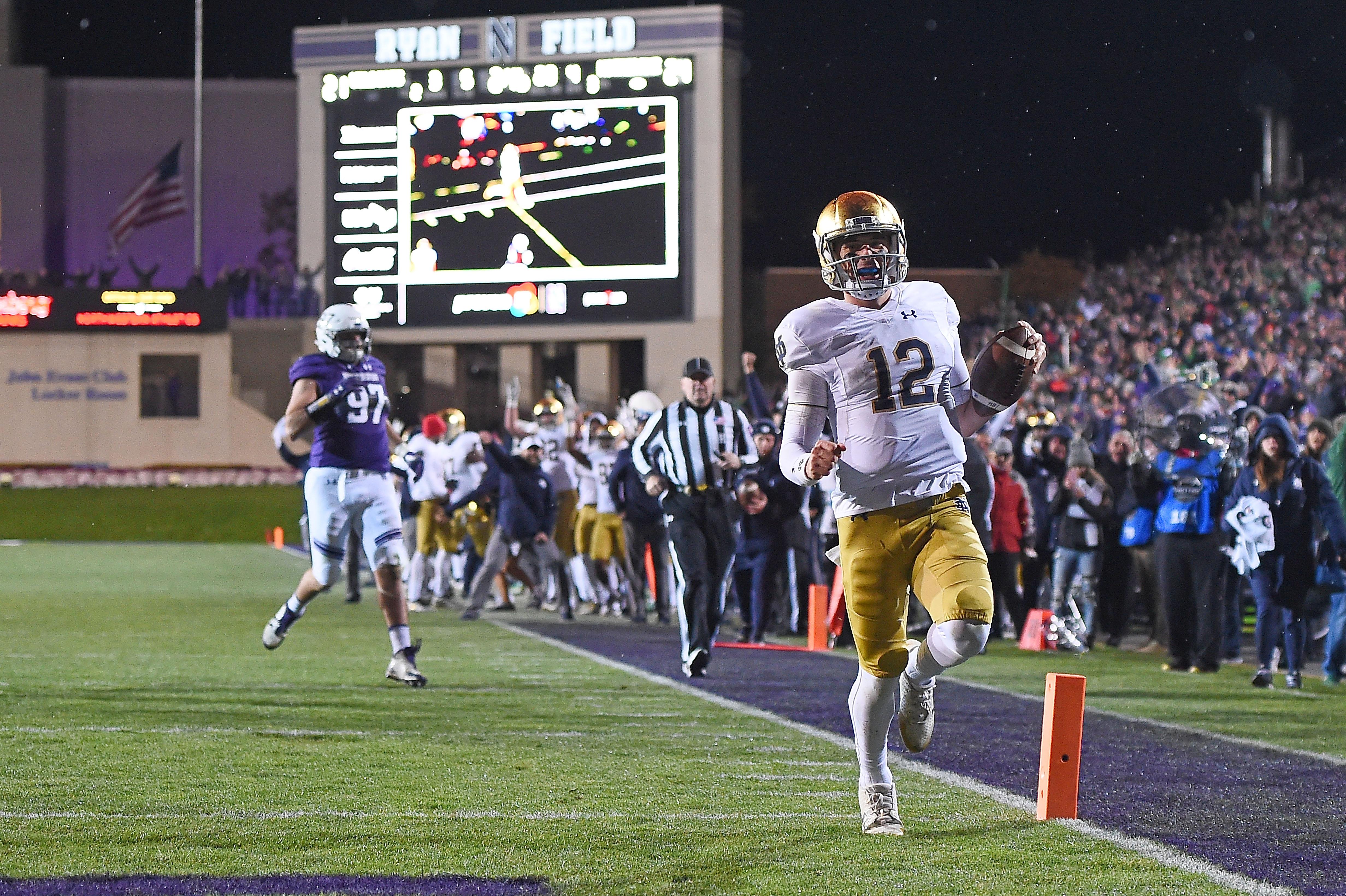 Notre Dame v Northwestern