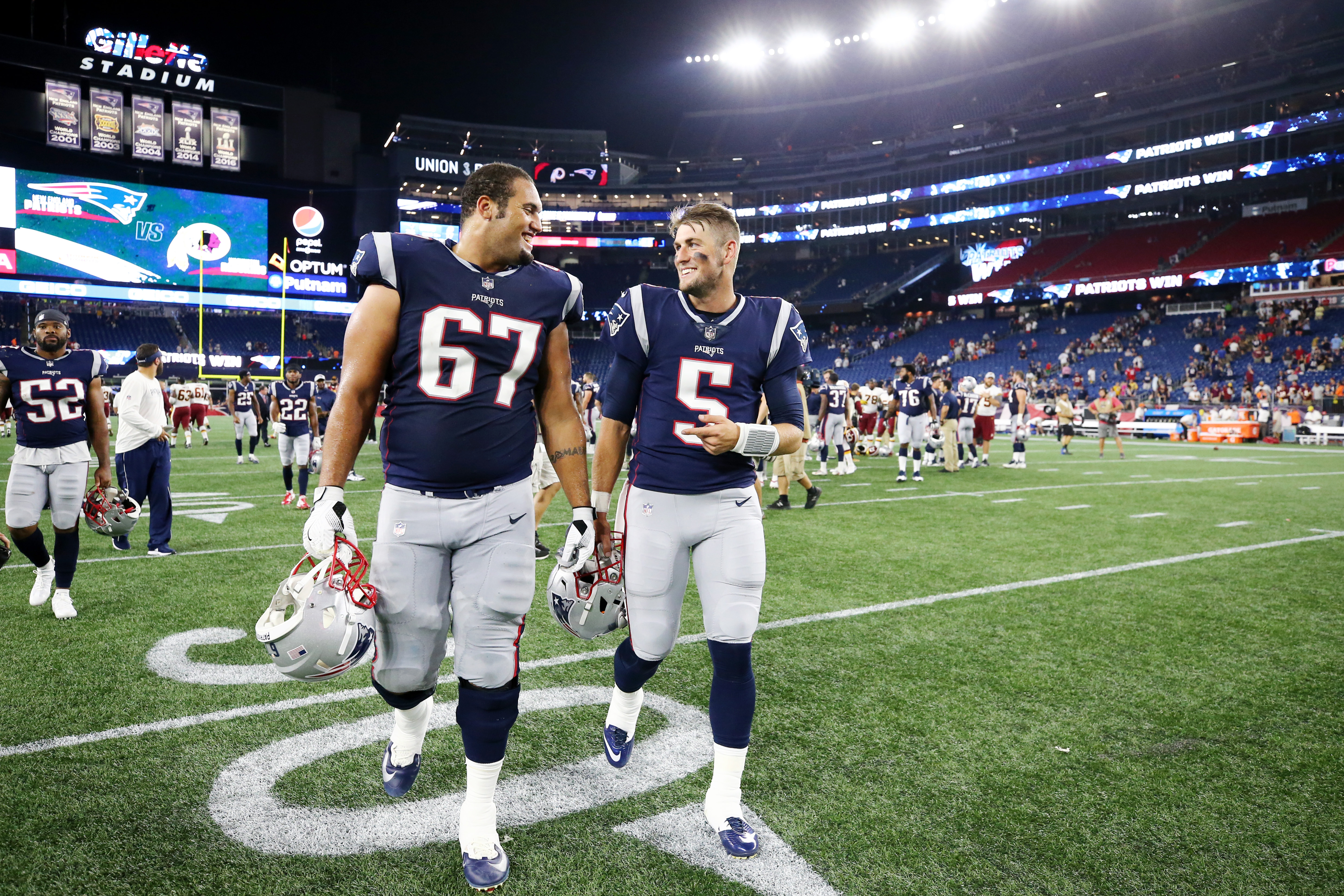 Washington Redskins v New England Patriots