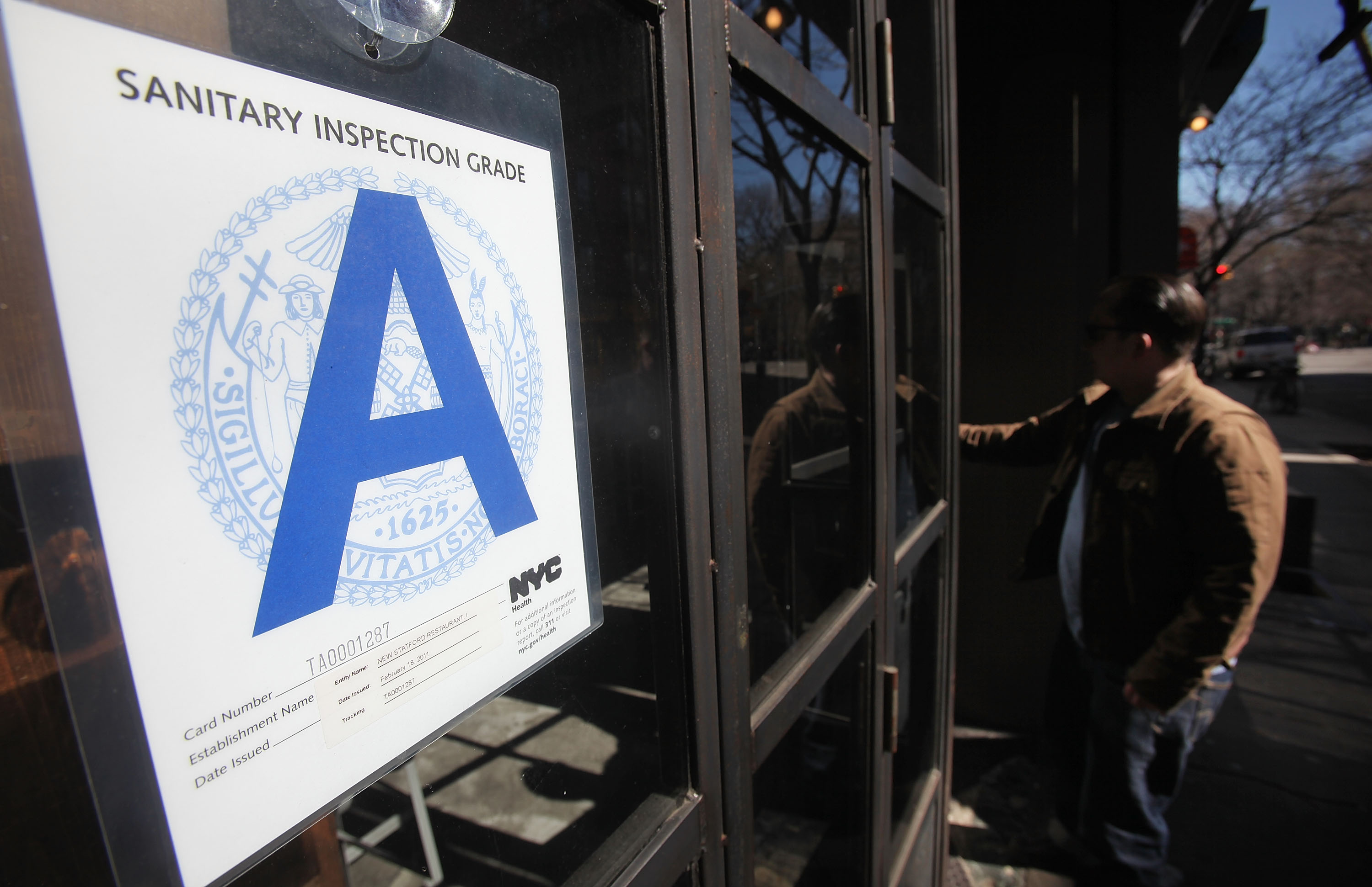 NYC Restaurants Improve Food Safety Practices After Advent Of Rating System