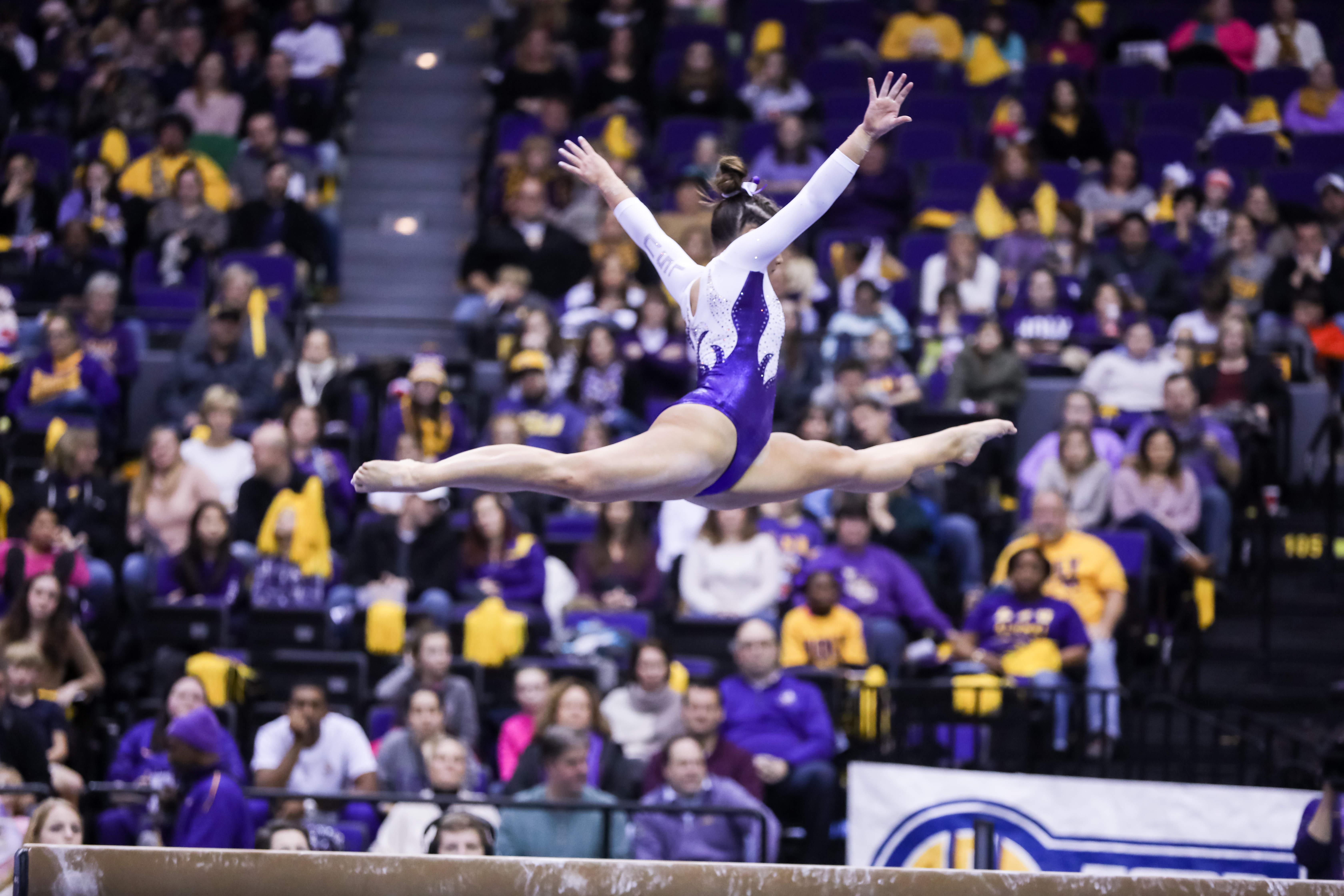 FloSports: FloGymnastics Georgia at LSU