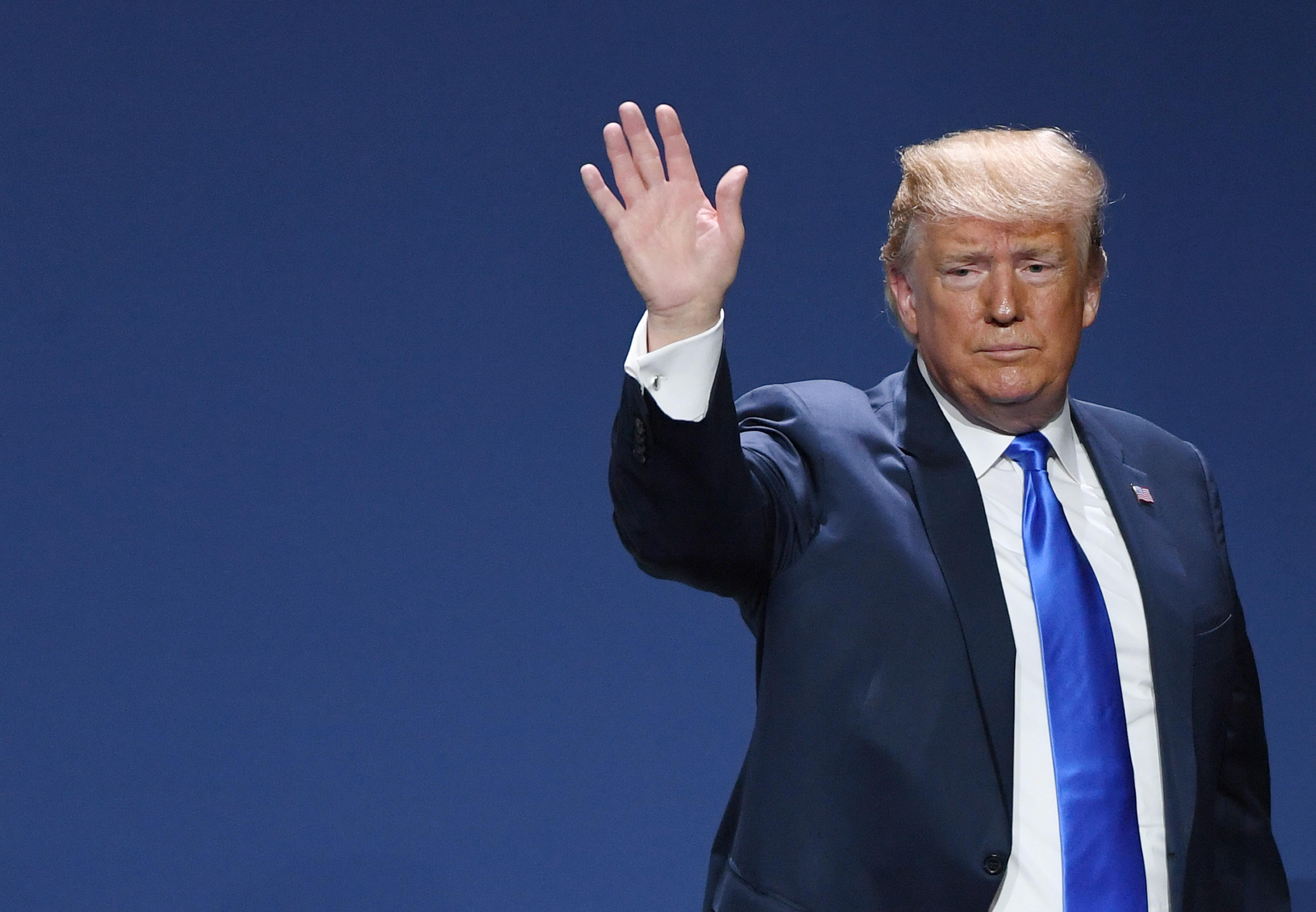 President Donald Trump Among Speakers At Republican Jewish Coalition In Las Vegas