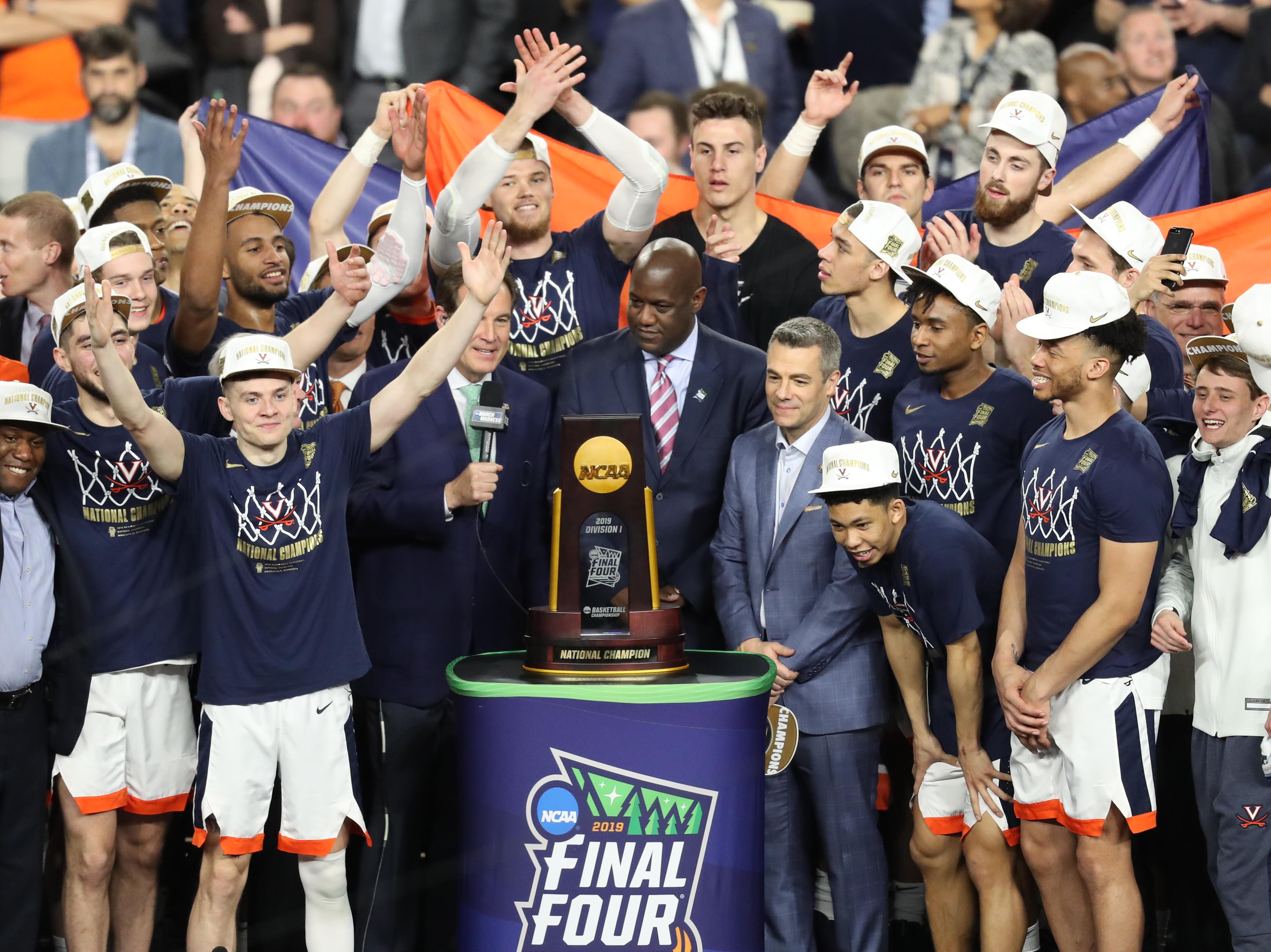 Virginia's charmed national championship run after losing to UMBC is better than Hollywood