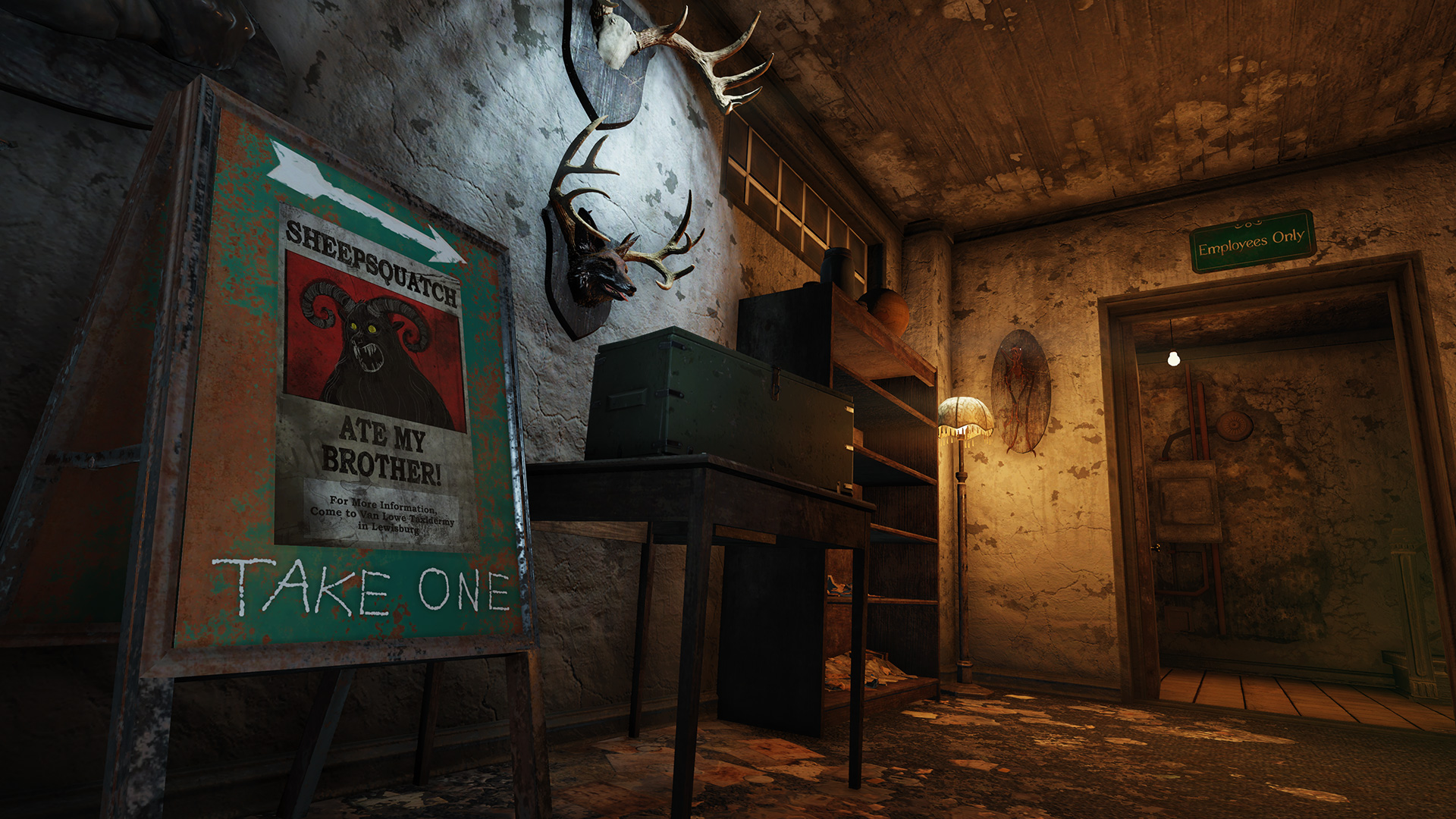 Fallout 76 patch introduces the Sheepsquatch, vendor improvements