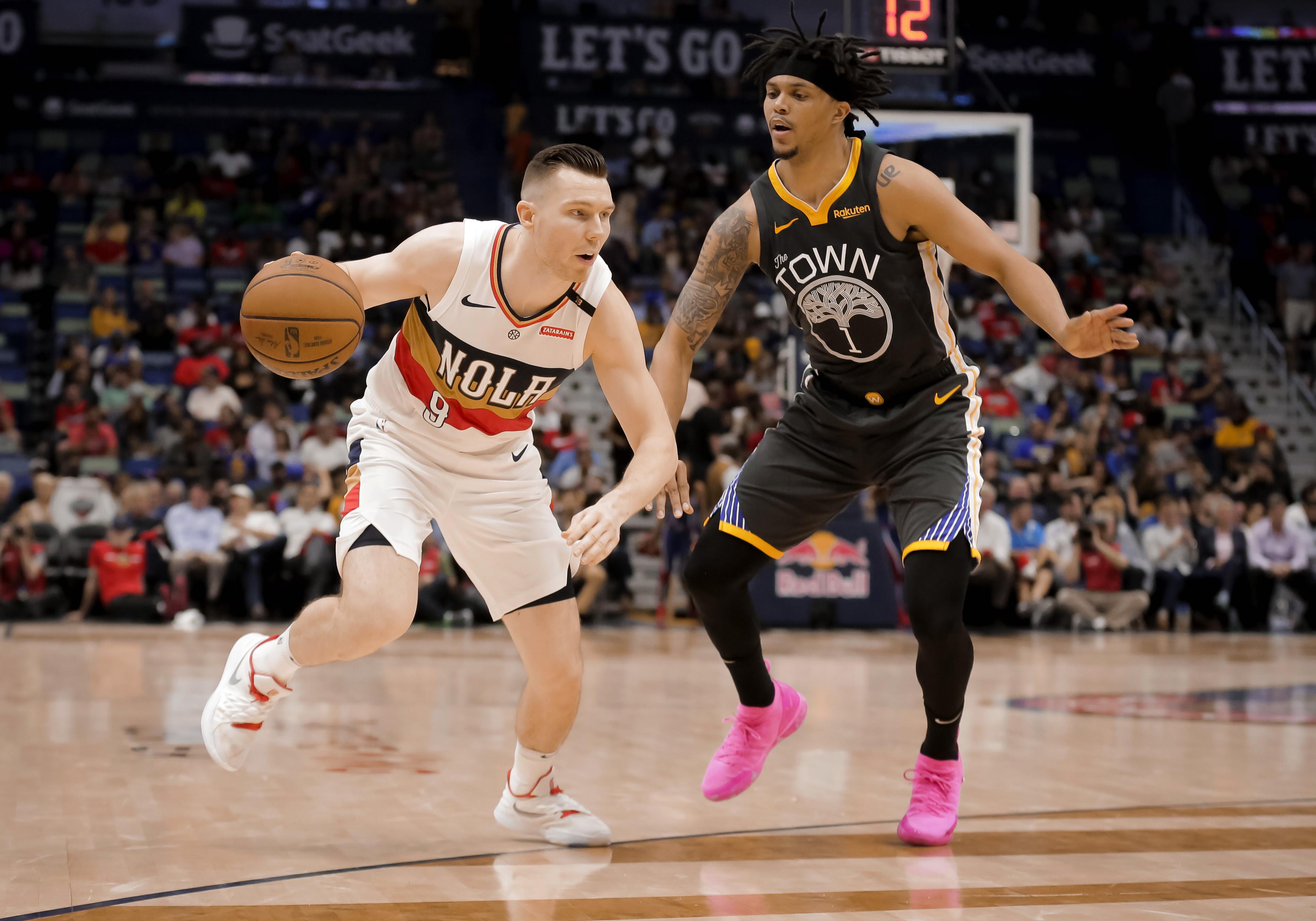 96fcdd782 Warriors Game Breakdown  Dubs win over Pelicans behind big bench ...
