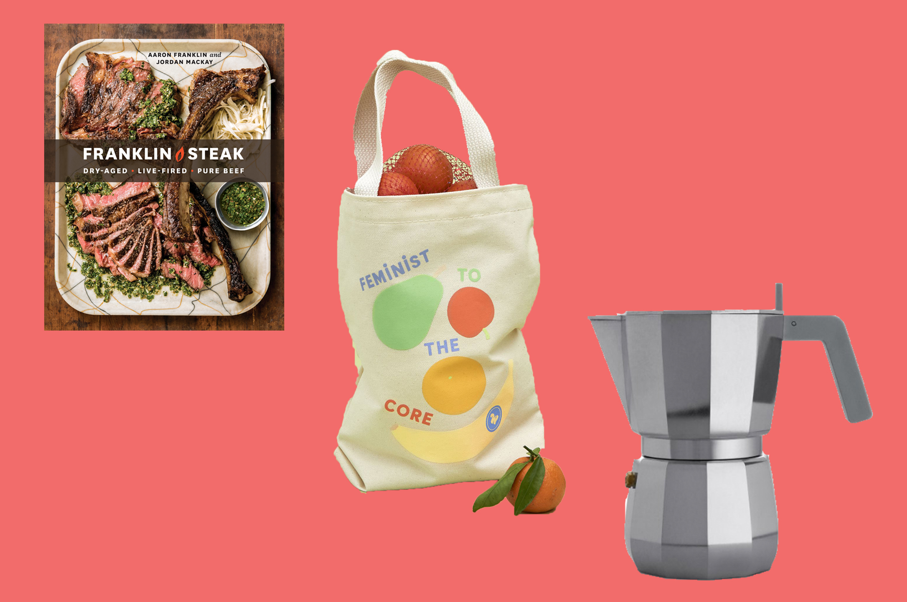 A Meat Lover's Textbook, a Feminist Fruit Tote, and More Things to Buy This Week