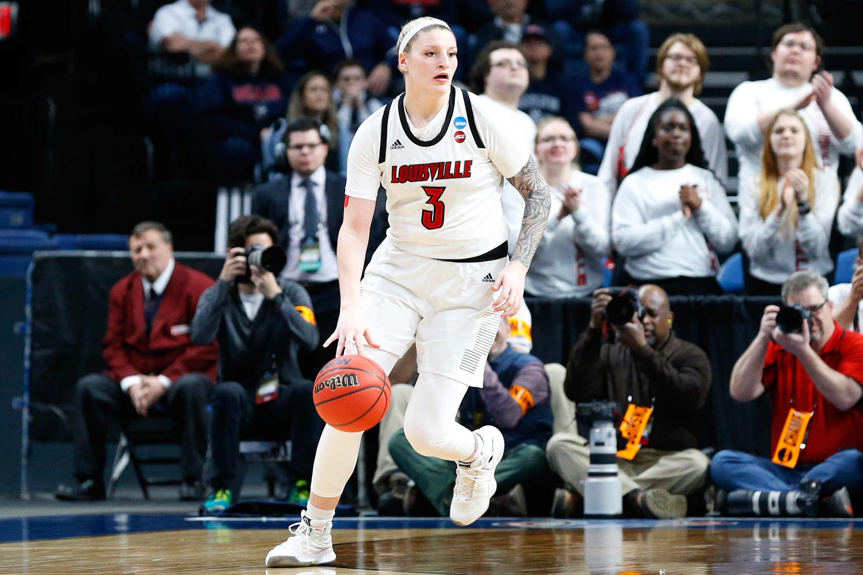NCAA Womens Basketball: NCAA Tournament-Albany Regional-Connecticut vs Louisville