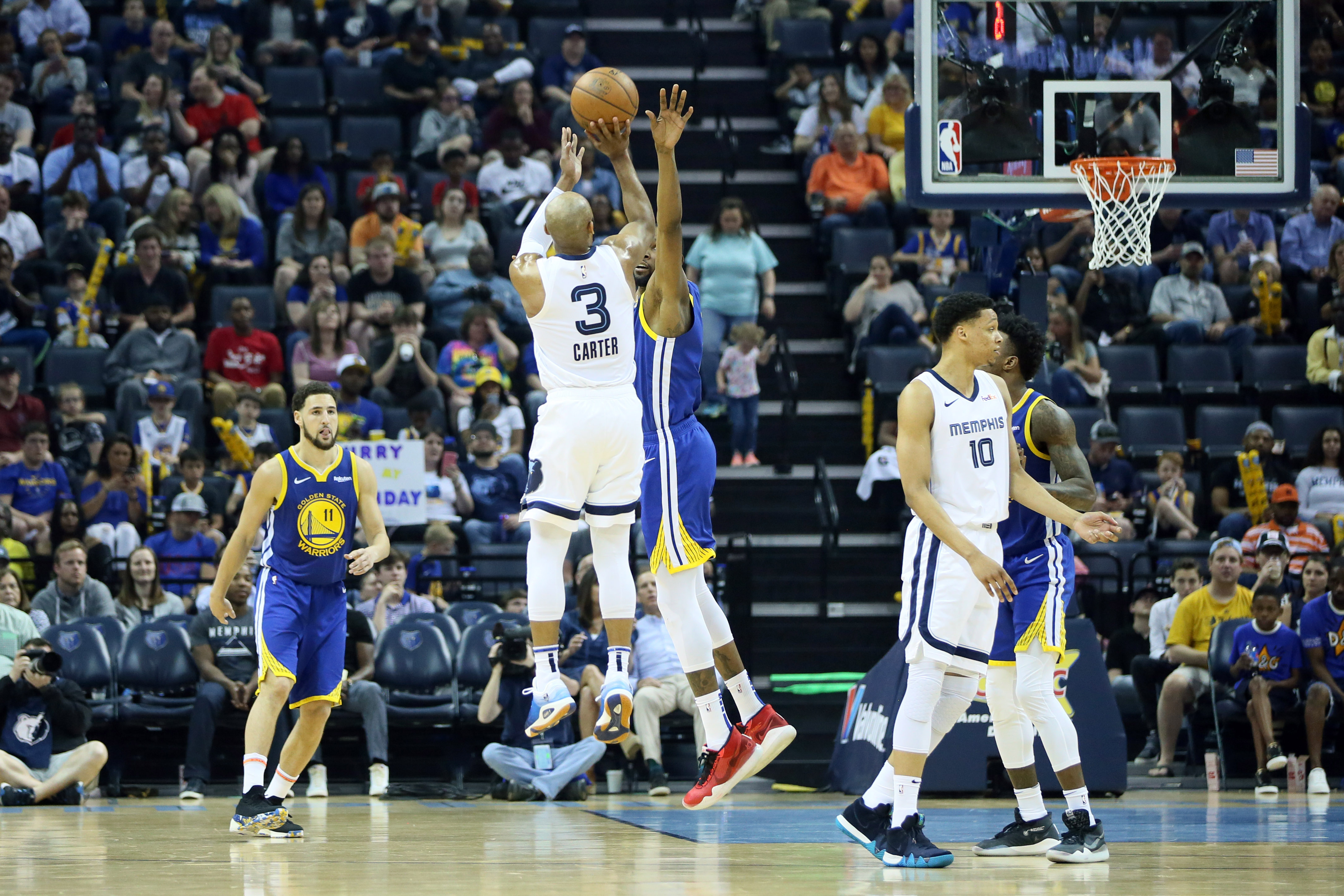 d9e18ad96df Grizzlies wrap up randomly disappointing season with blowout win over  Warriors