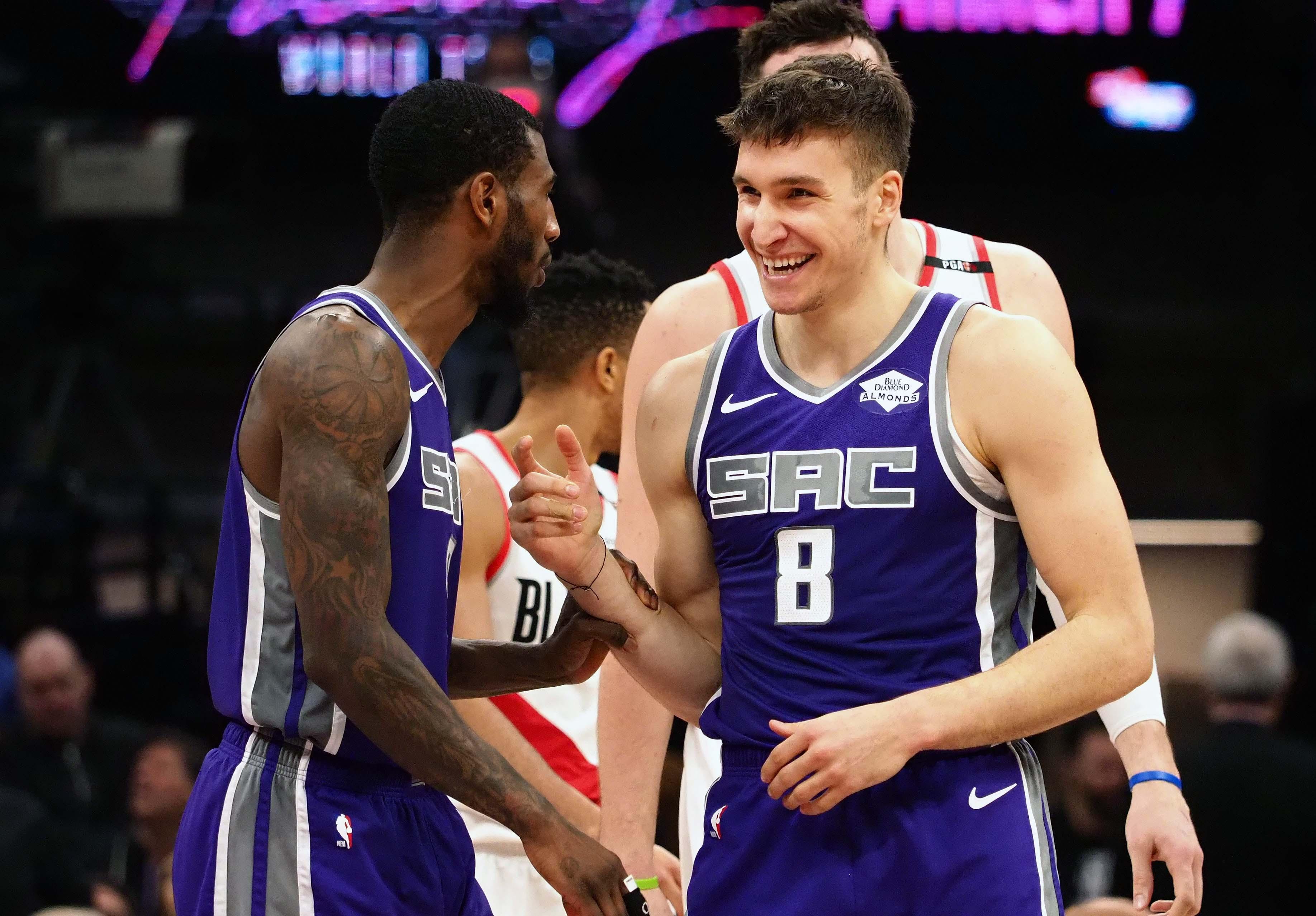 NBA: Portland Trail Blazers at Sacramento Kings