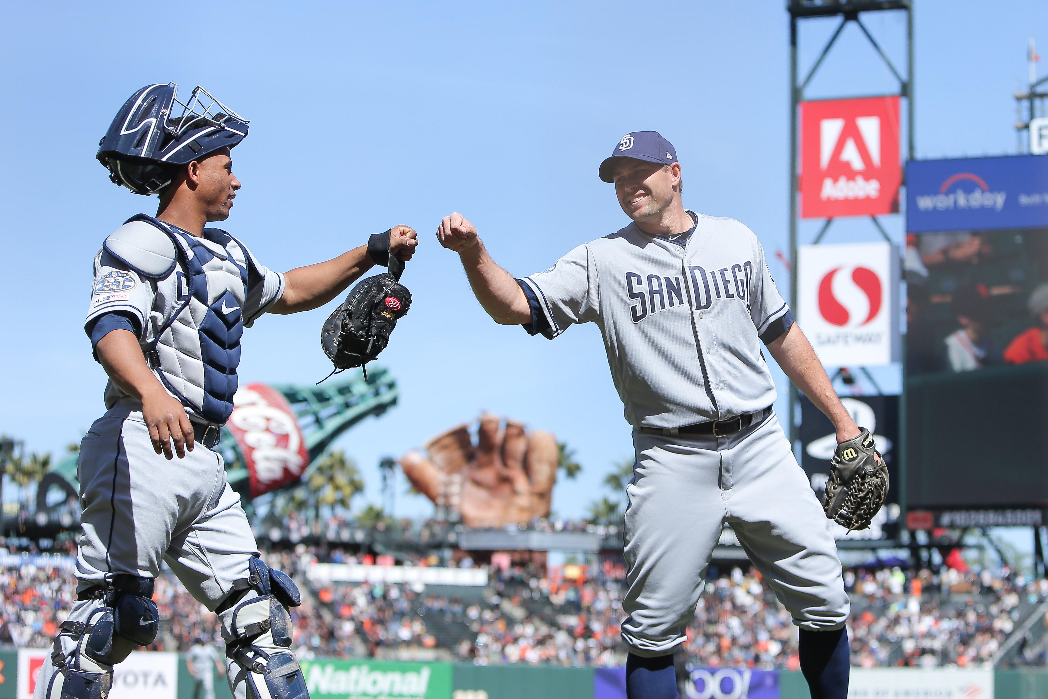 MLB: San Diego Padres at San Francisco Giants