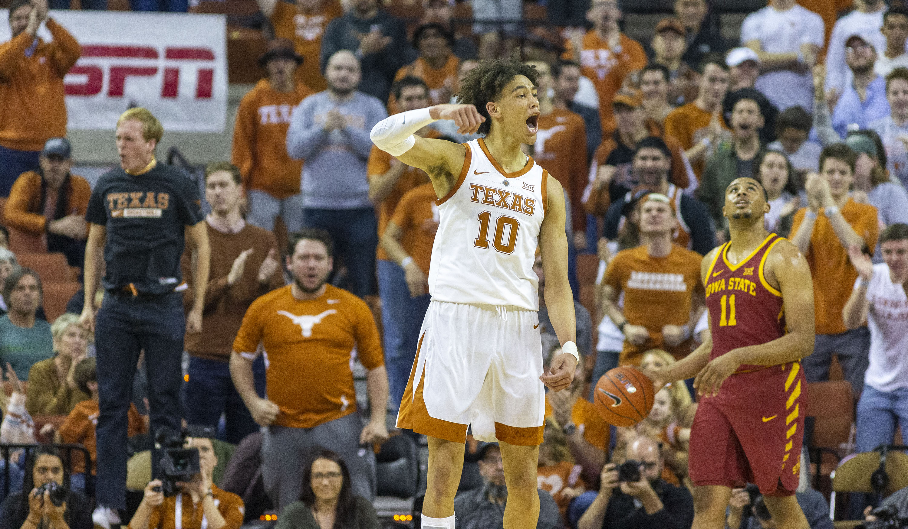 wholesale dealer a4b45 4987a Texas lottery prospect Jaxson Hayes enters 2019 NBA Draft ...