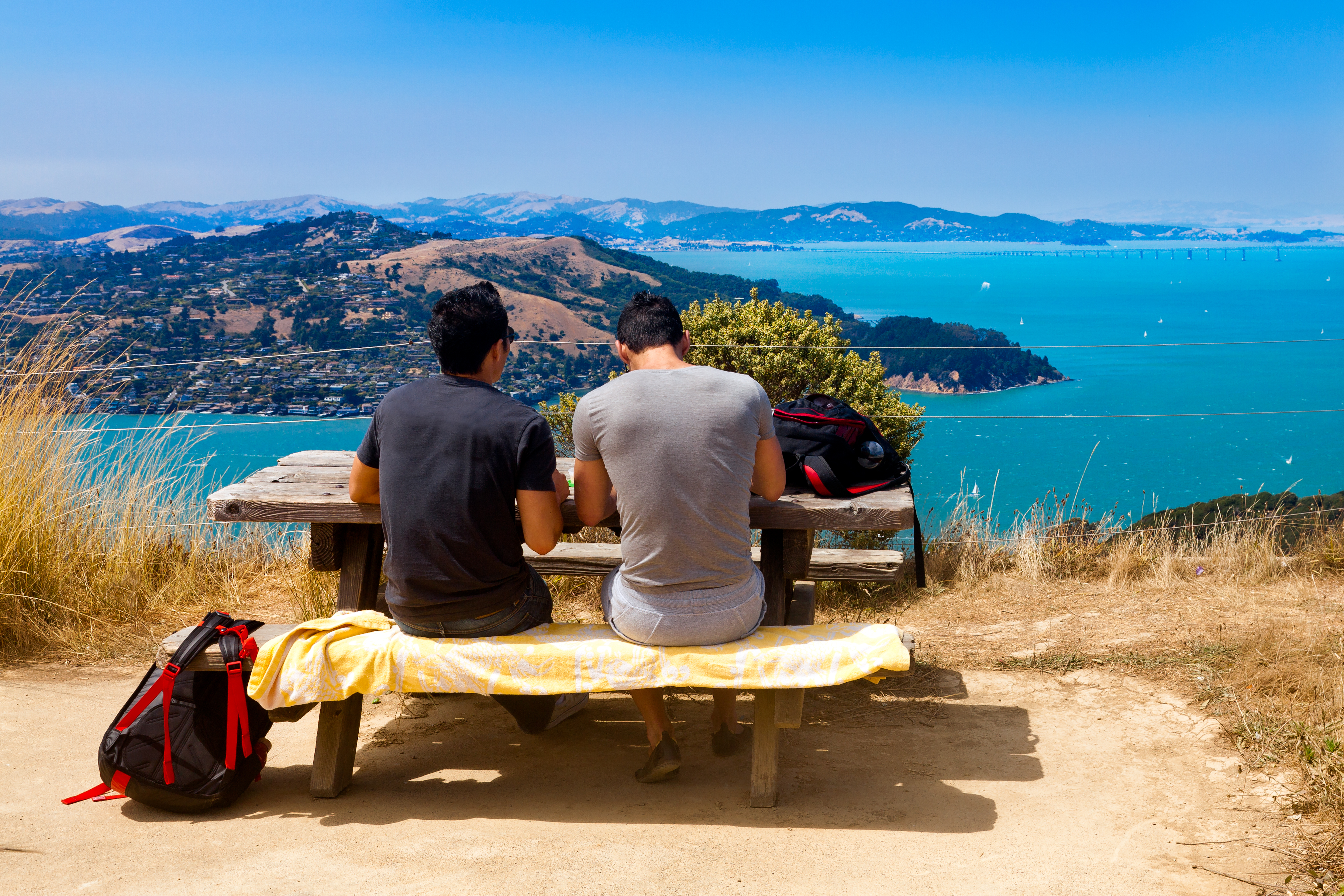 The Bay Area's best campsites accessible by bus or bike