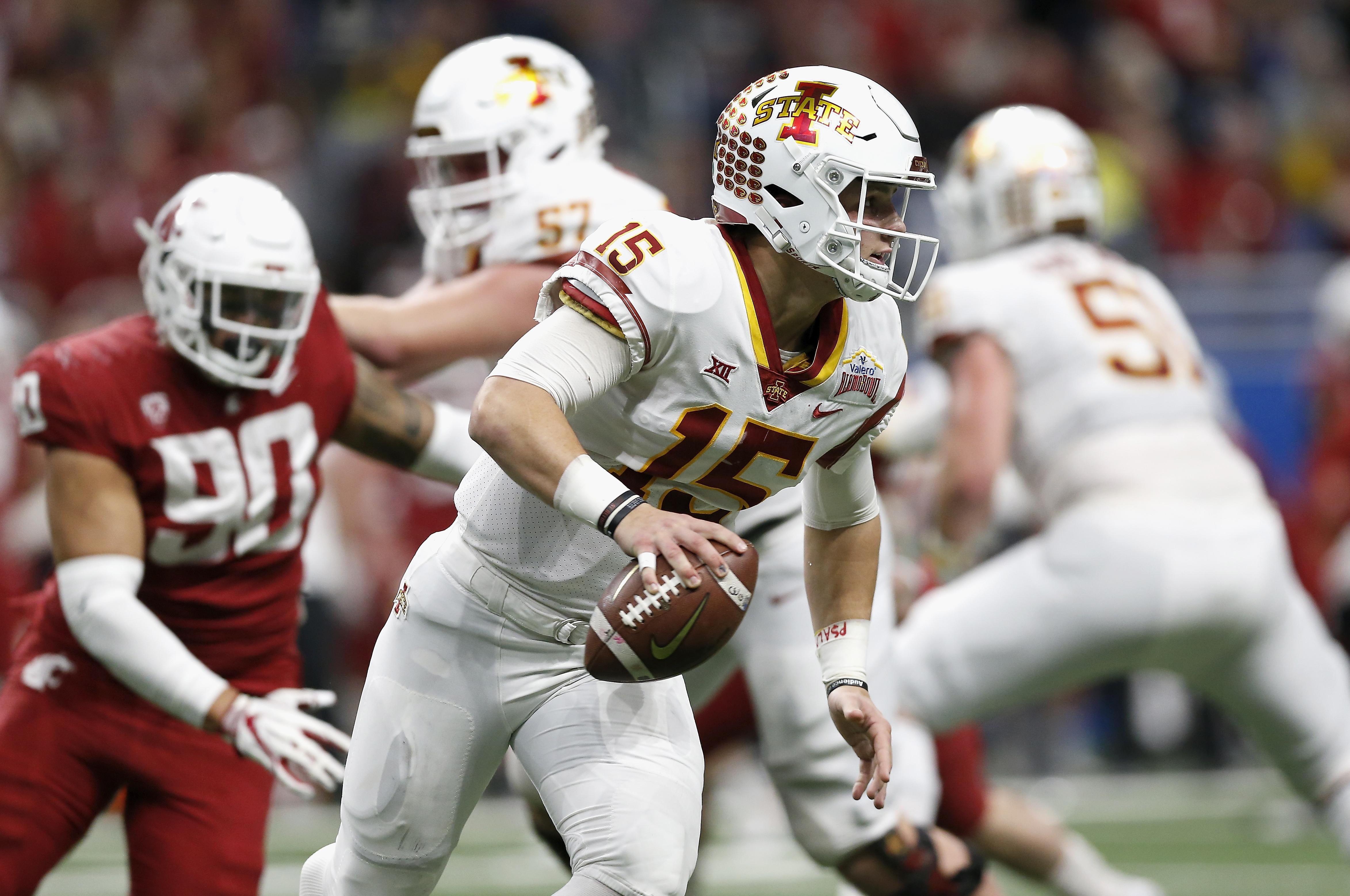 Valero Alamo Bowl - Iowa State v Washington State