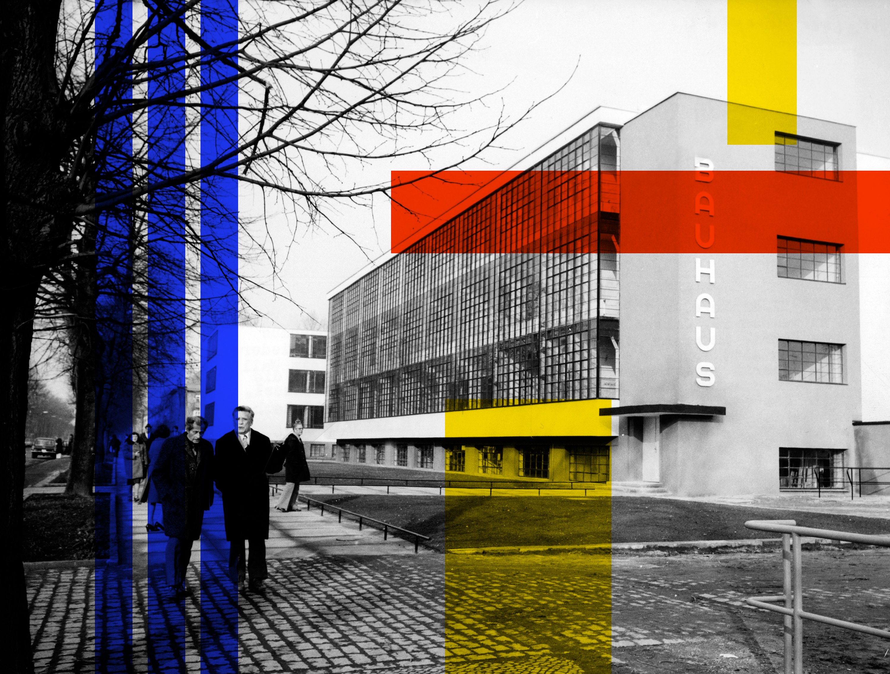 Today's Google Doodle celebrates the 100th anniversary of Bauhaus
