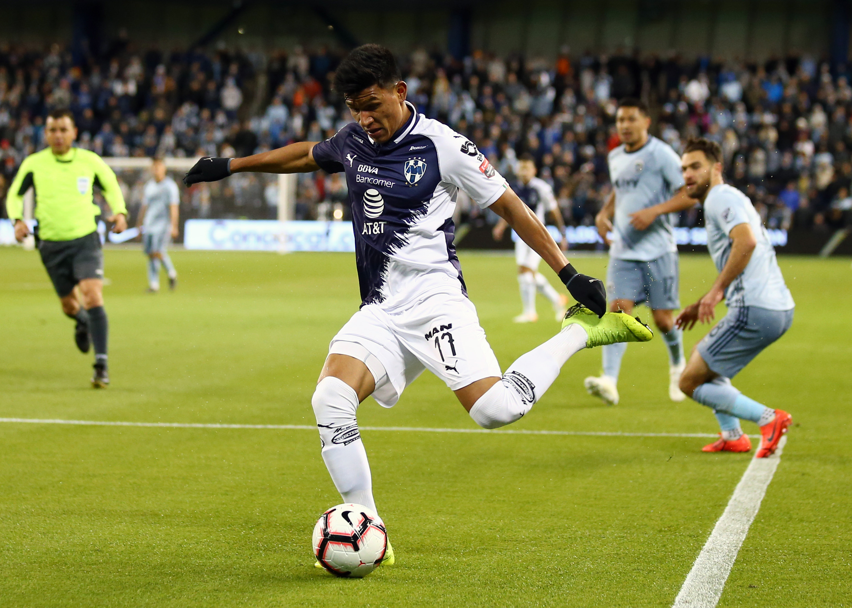 MLS: Champions League-Monterrey at Sporting KC