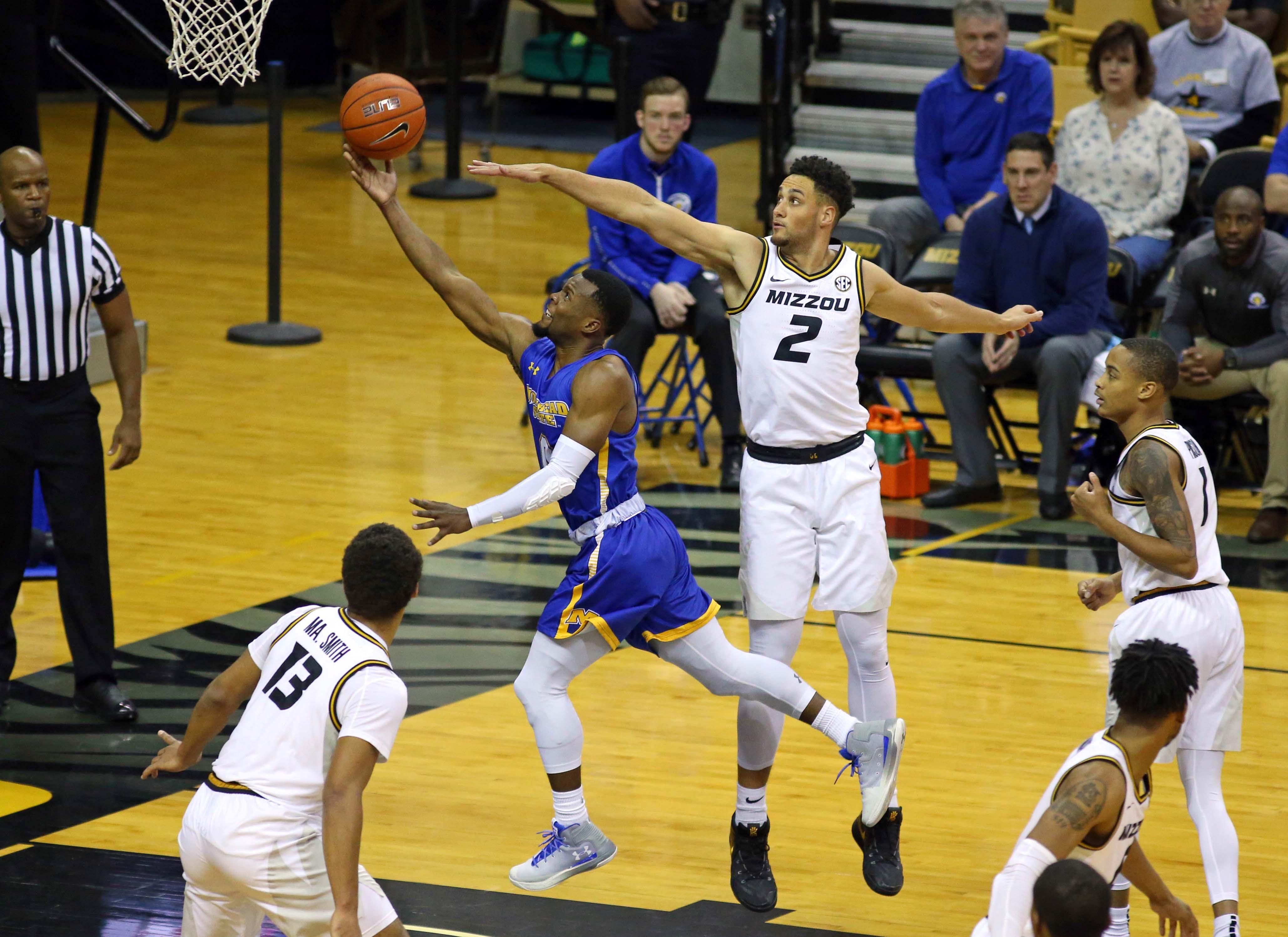 NCAA Basketball: Morehead State at Missouri