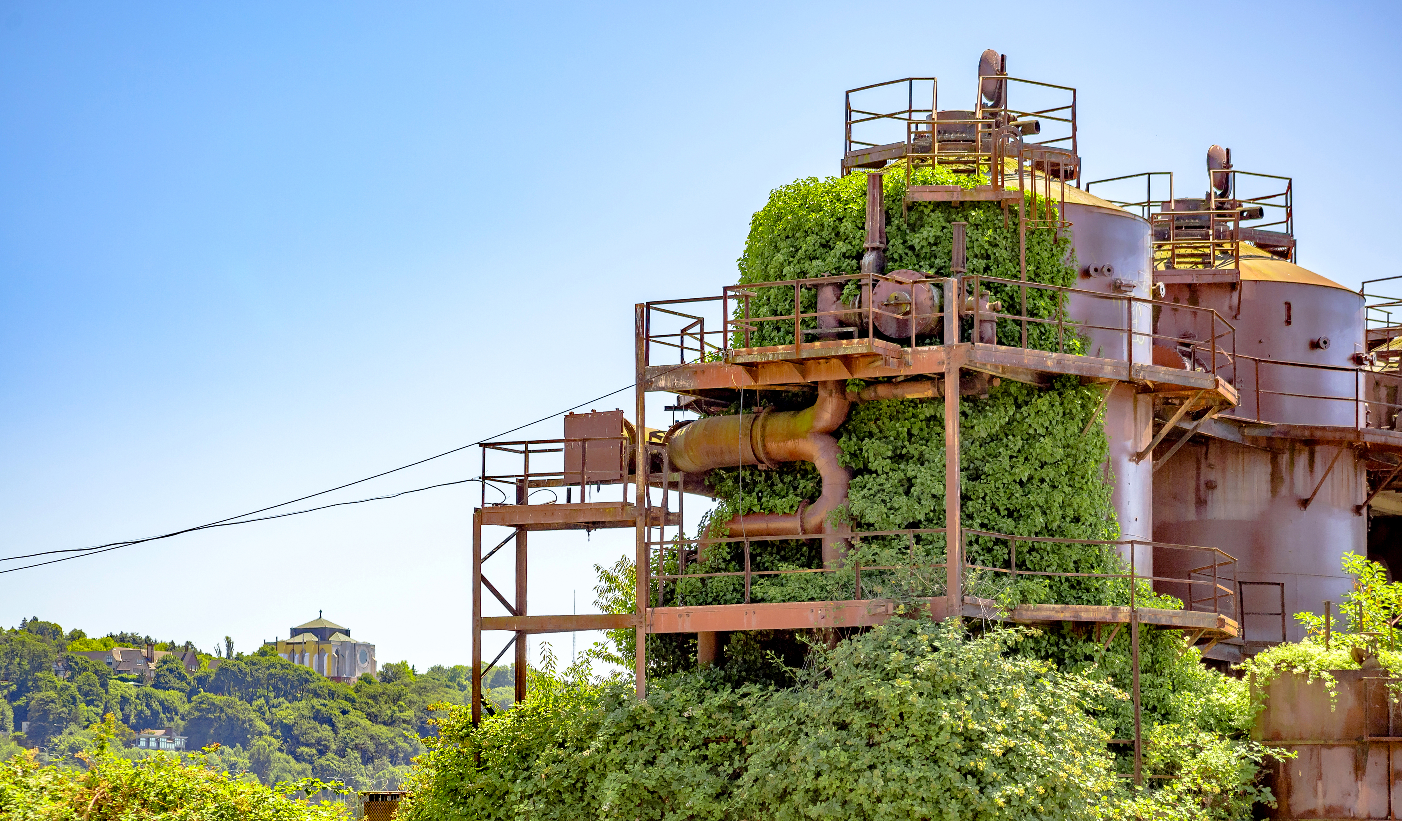 Gas Works Park is a beautiful way to remember a toxic past