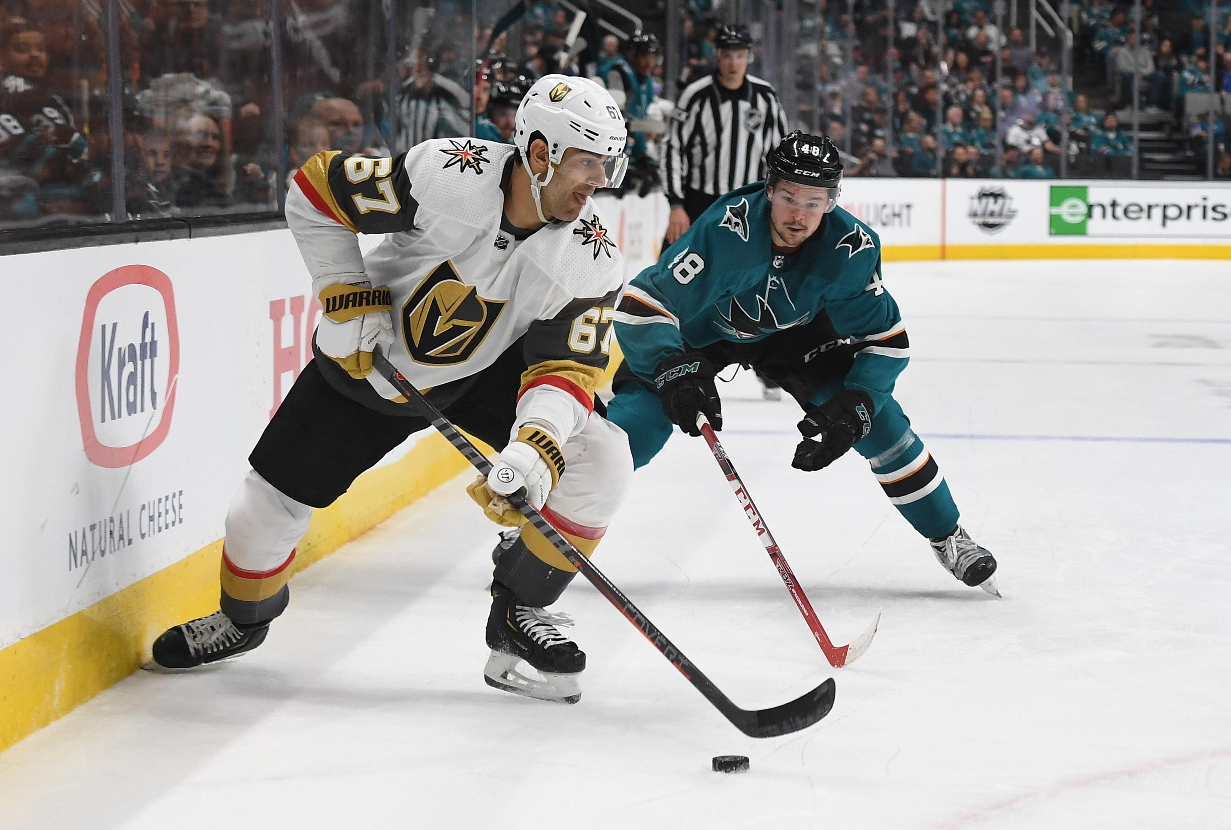 Vegas Golden Knights v San Jose Sharks - Game One