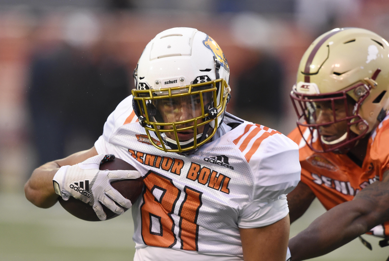 NCAA Football: Senior Bowl Practice-North
