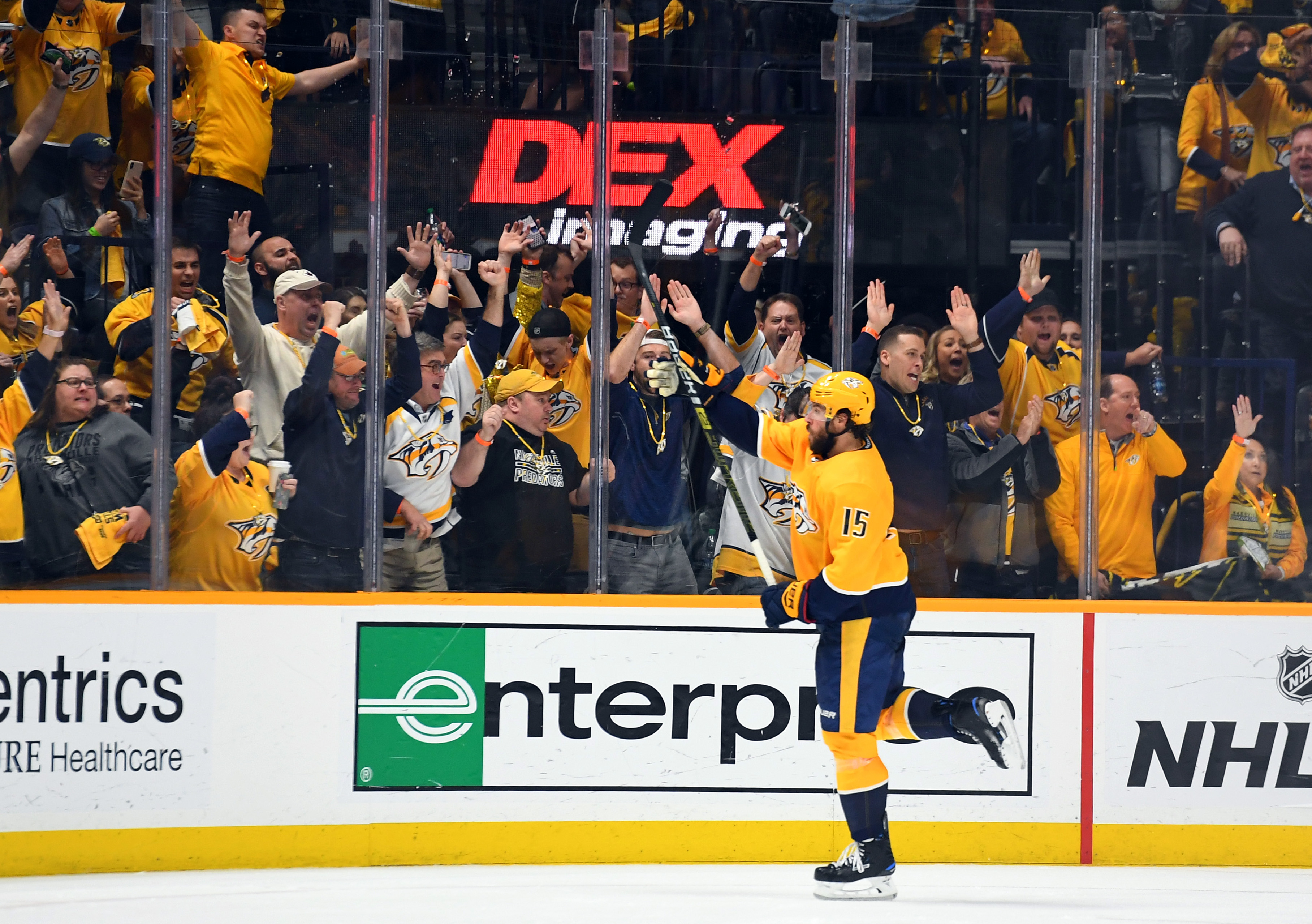 NHL: Stanley Cup Playoffs-Dallas Stars at Nashville Predators