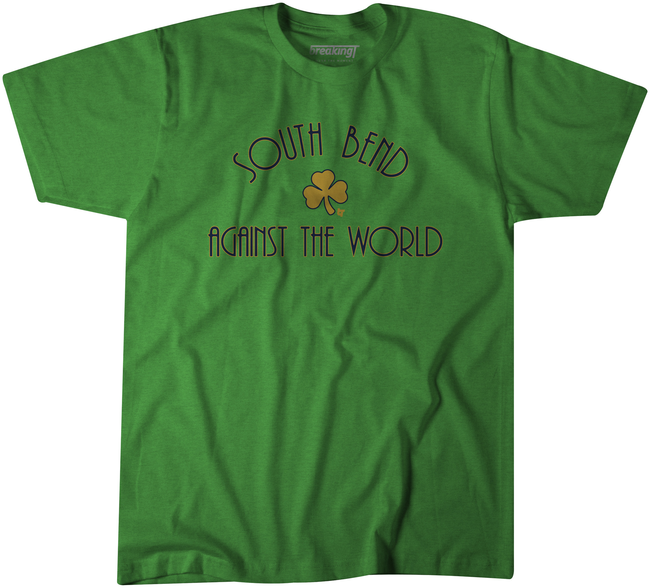 south bend against the world shirt notre dame football