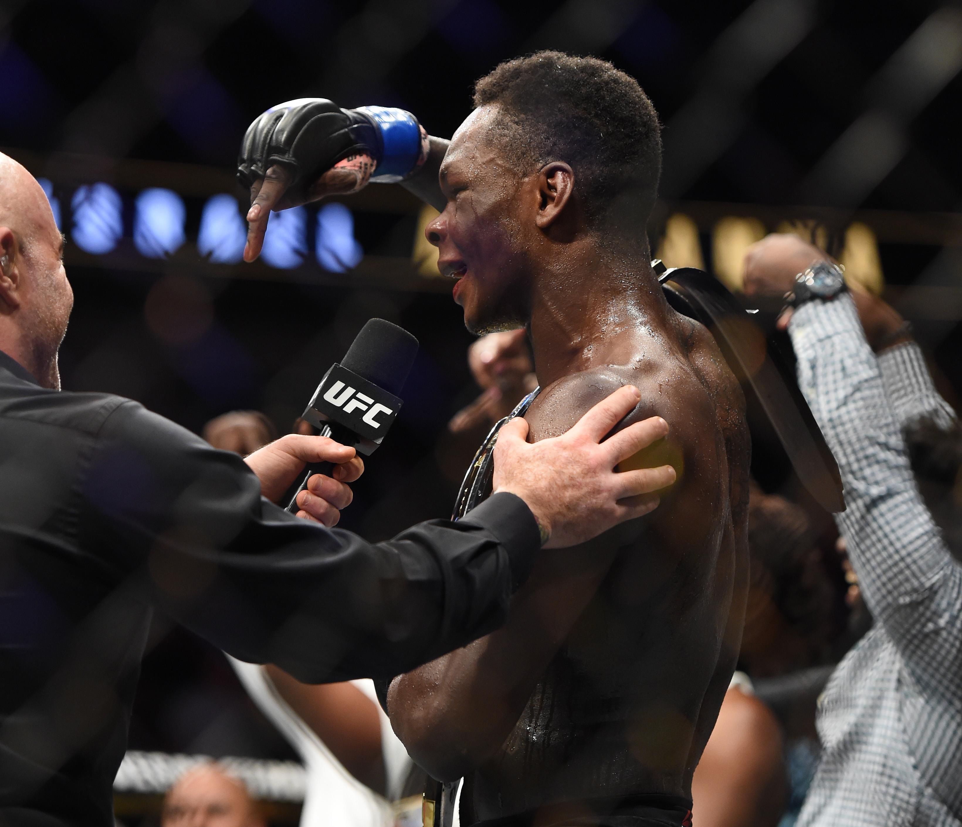 MMA: UFC 236- Gastelum vs Adesanya