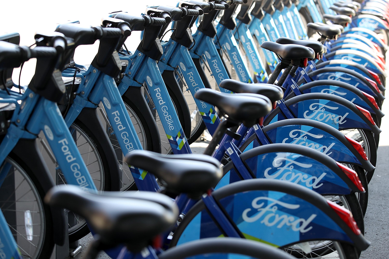 Uber And Lyft Both Bidding For Bike Share Company Motivate