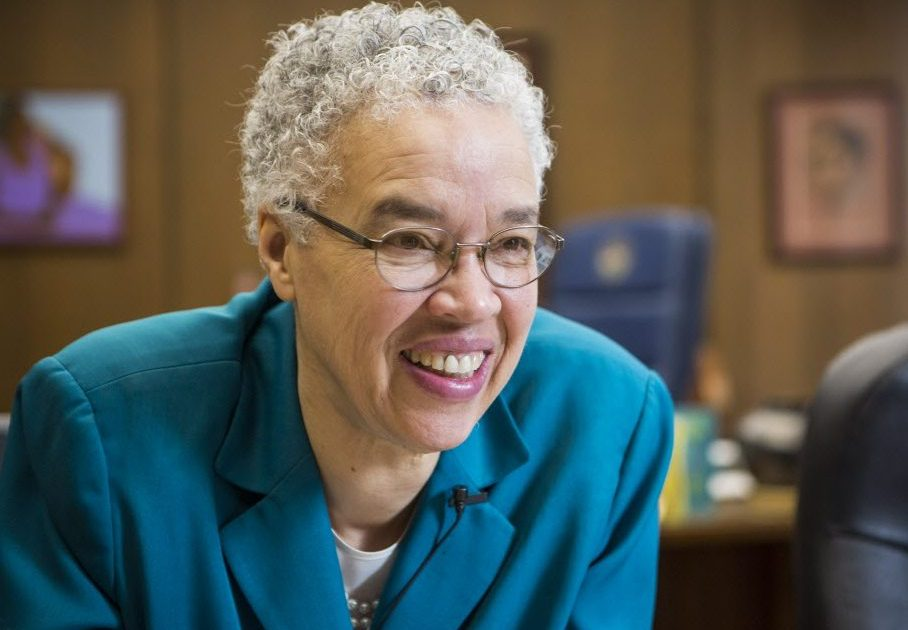 Cook County Board President Toni Preckwinkle.