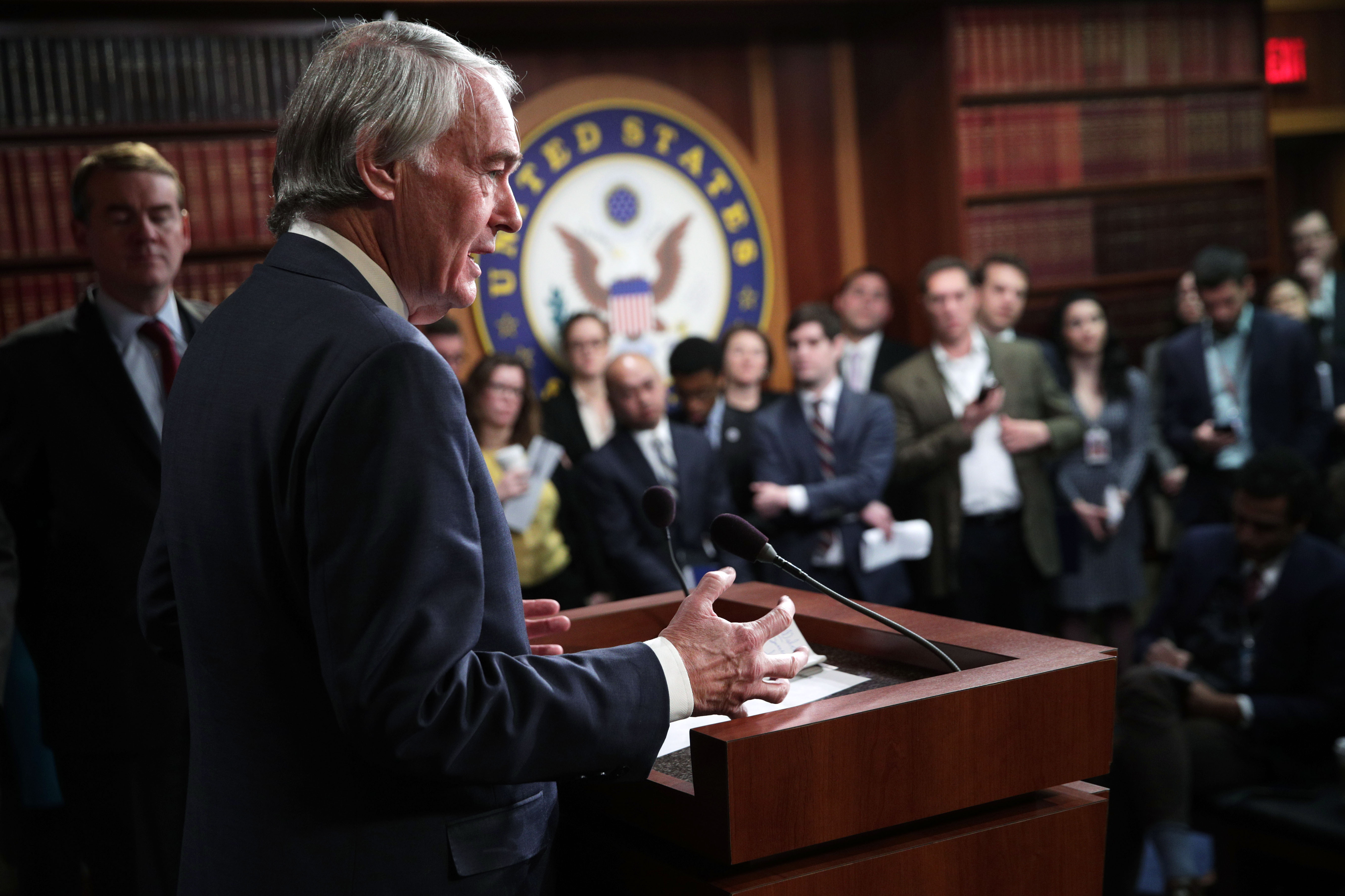 """Sen. Ed Markey: """"We are now in the era of the Green New Deal"""""""