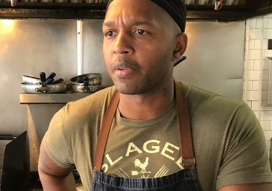 Darnell Reed, chef/owner of Luella's Southern Kitchen, which is taking part for in Chicago Black Restaurant Week.