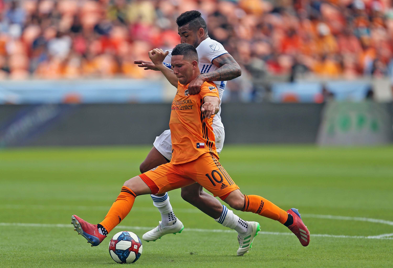 MLS: San Jose Earthquakes at Houston Dynamo