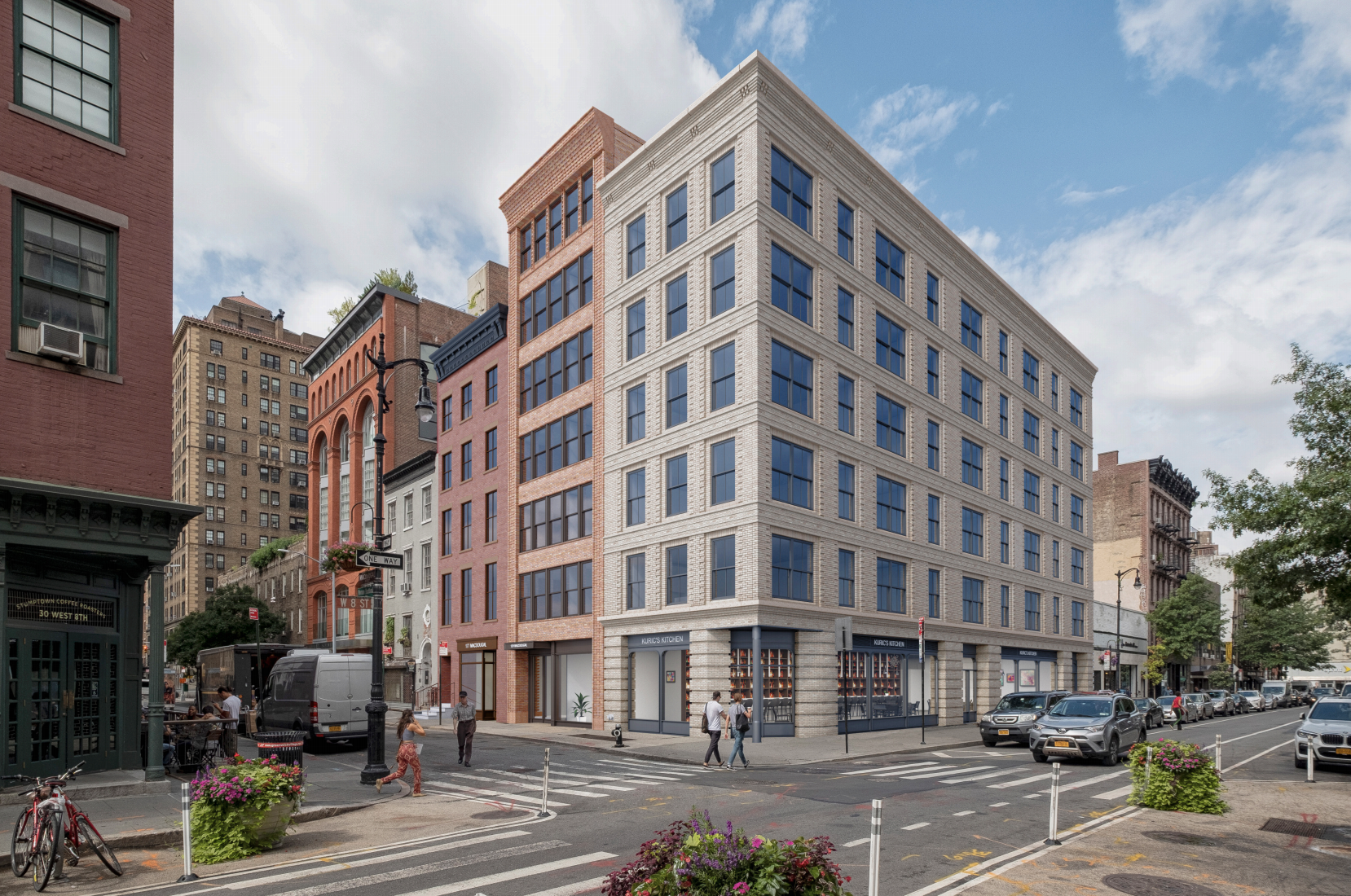 In Greenwich Village, new residential buildings to replace low-rise storefronts
