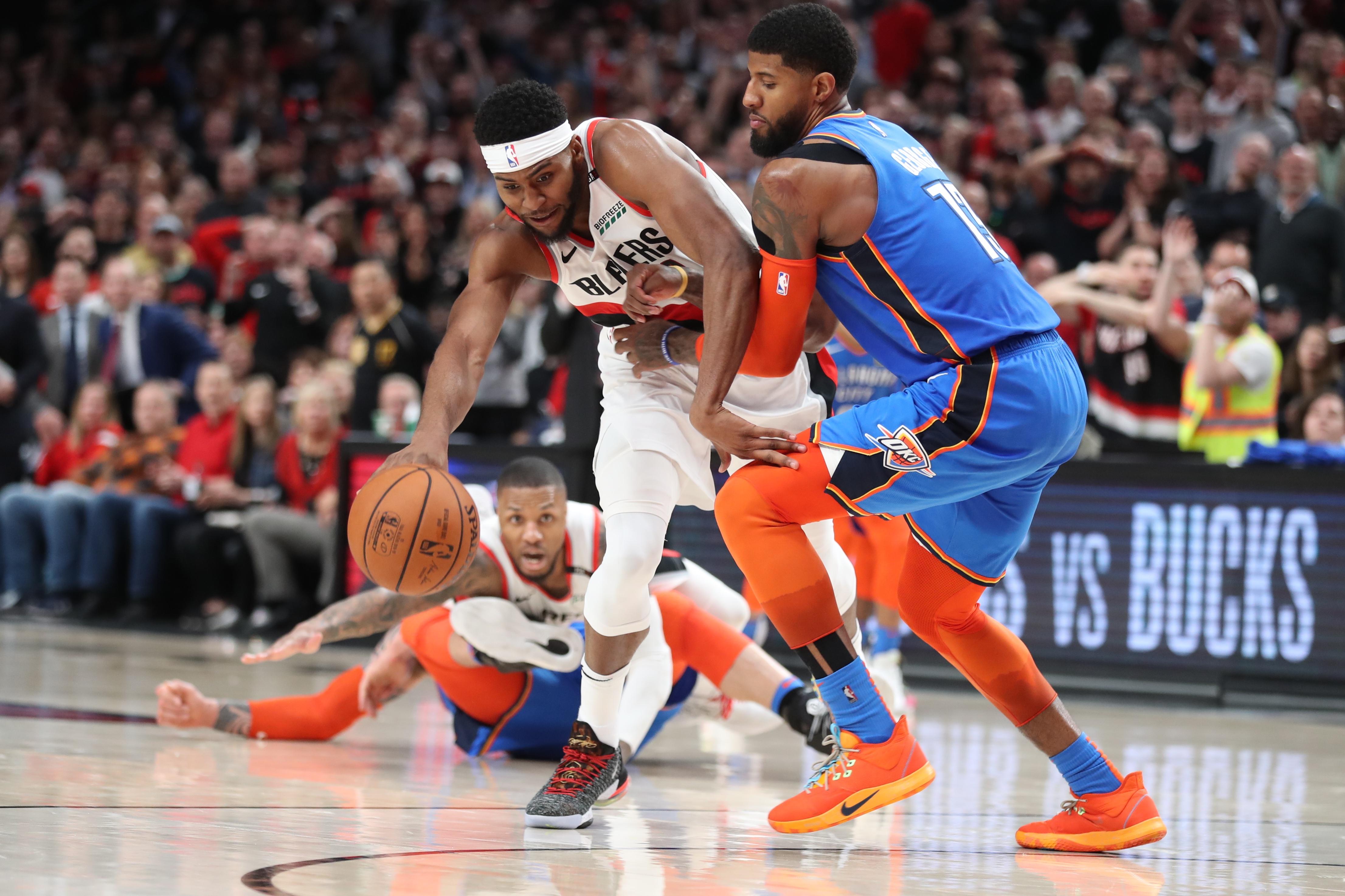 NBA: Playoffs-Oklahoma City Thunder at Portland Trail Blazers