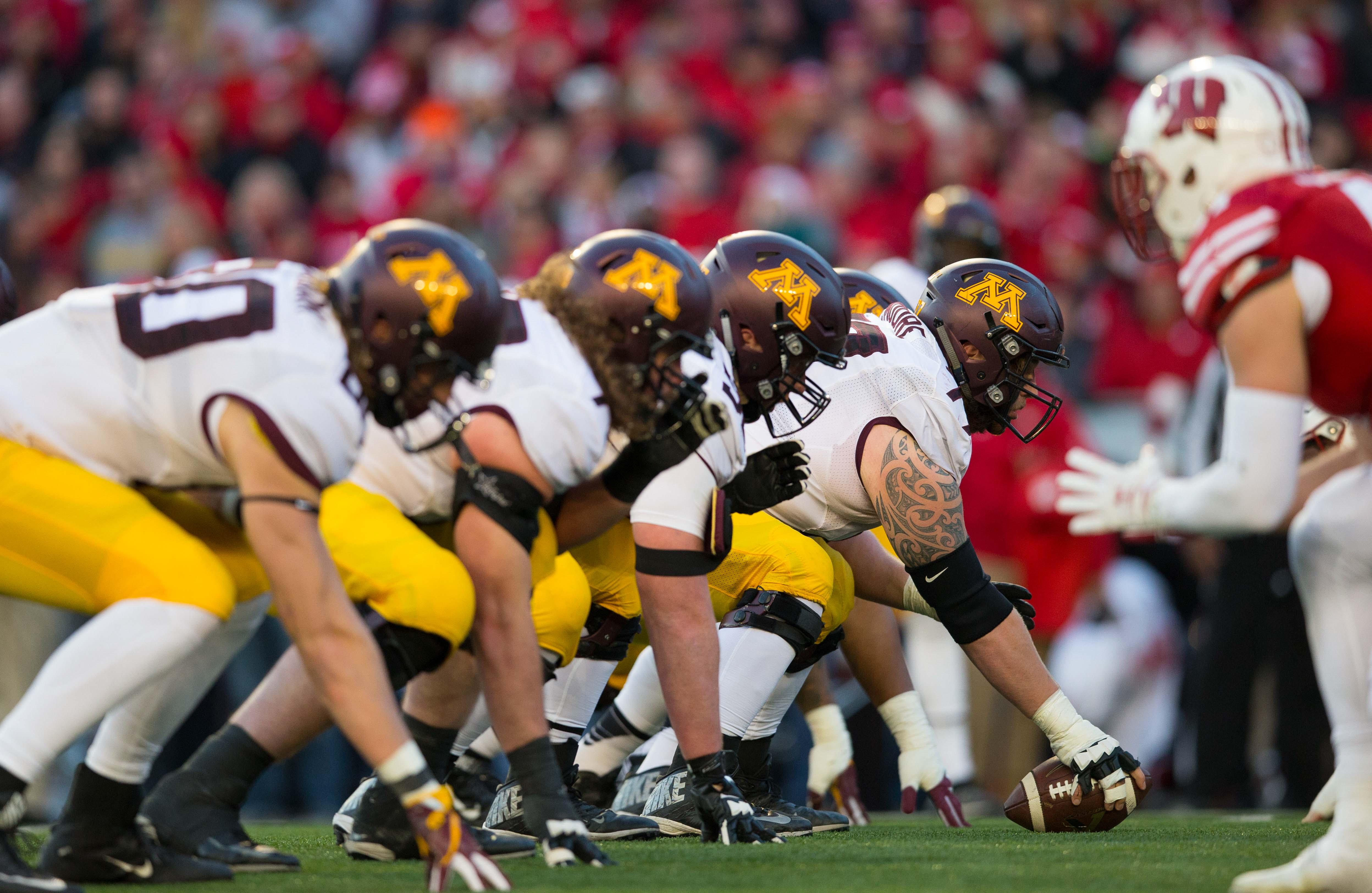 NCAA Football: Minnesota at Wisconsin