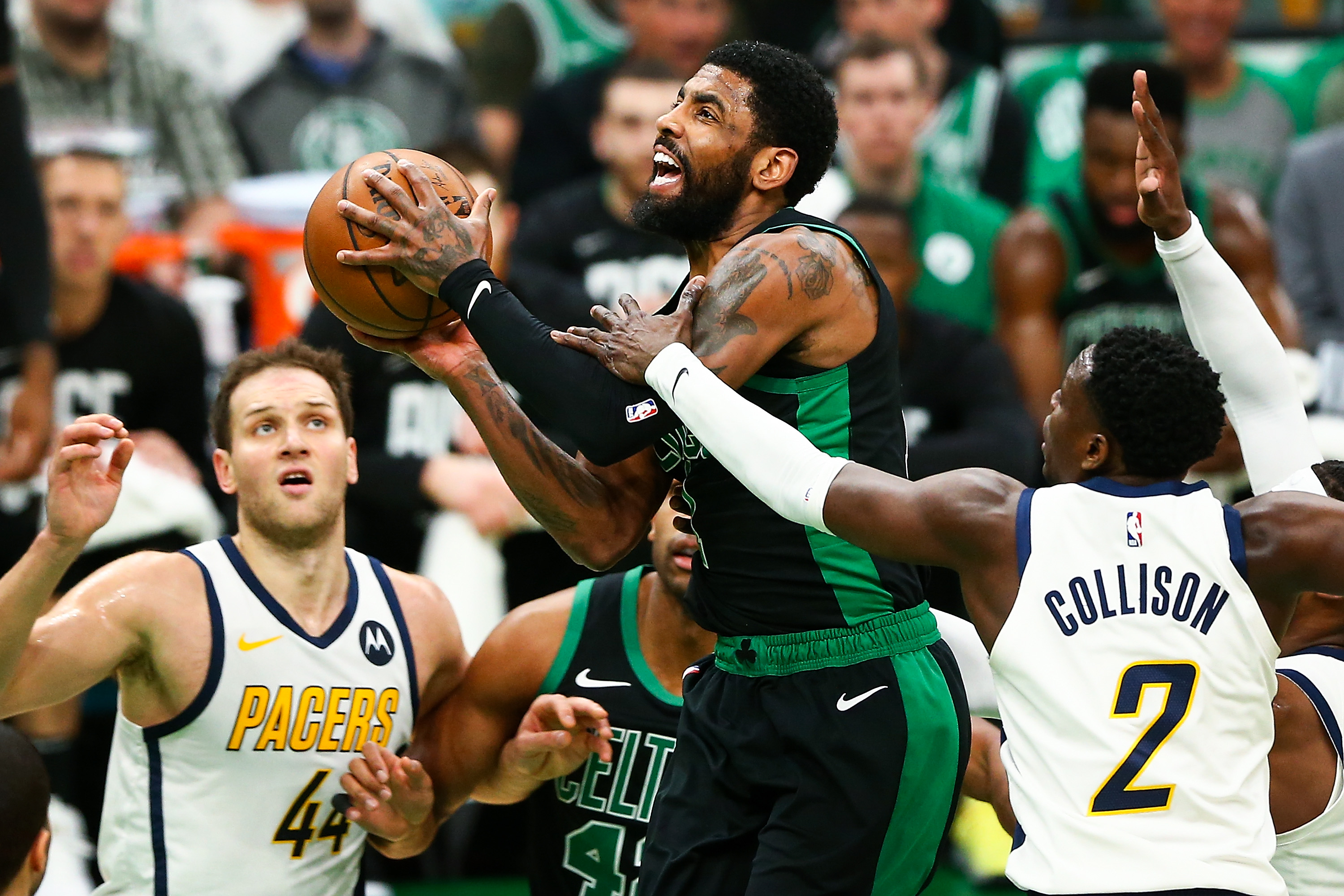 eed70802743e Kyrie Irving  taking full advantage  of playoff opportunity with Celtics