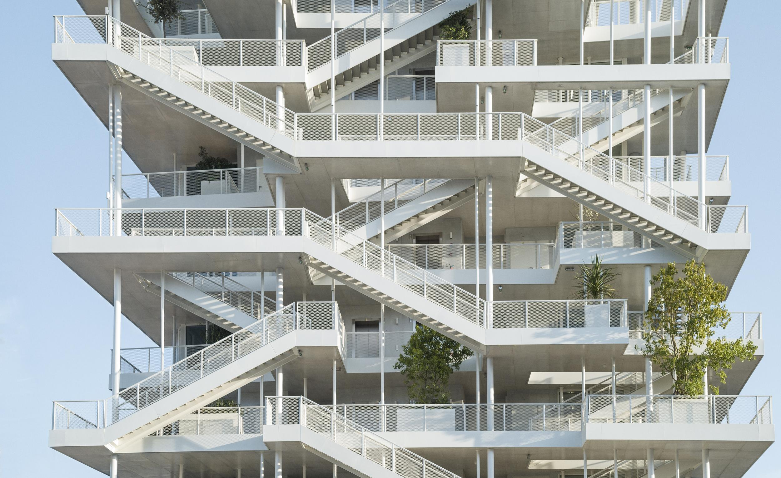French office building is like a real-life MC Escher drawing