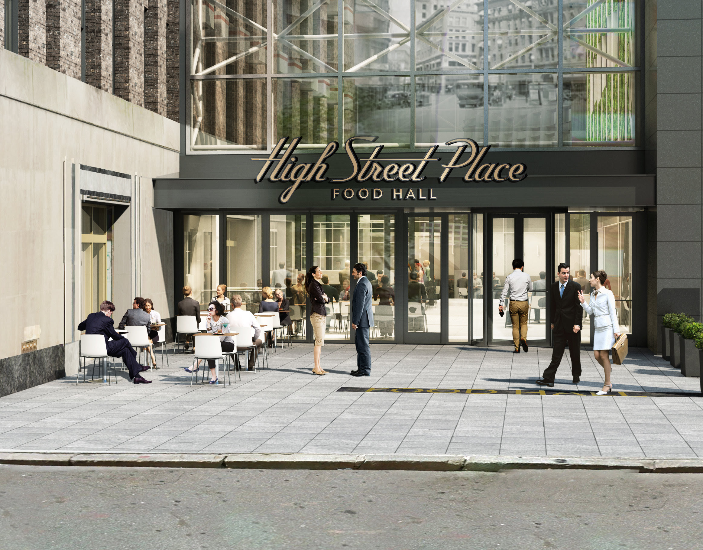 High Street Place rendering