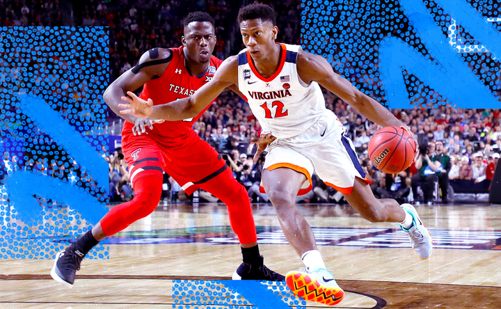 How De'Andre Hunter went from a redshirt to an NBA lottery stud at Virginia