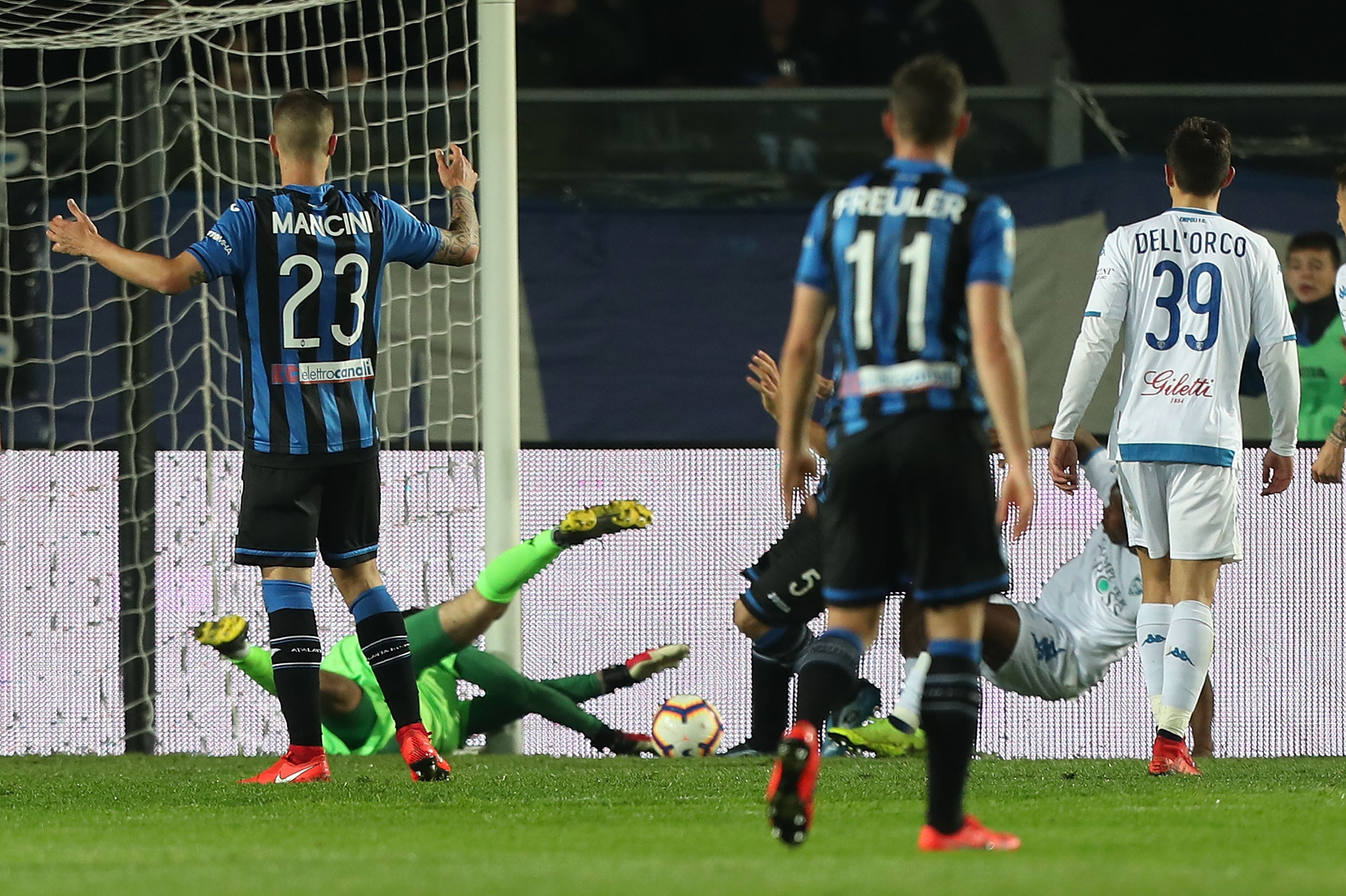 How Atalanta outshot Empoli 47-3 and still tied 0-0