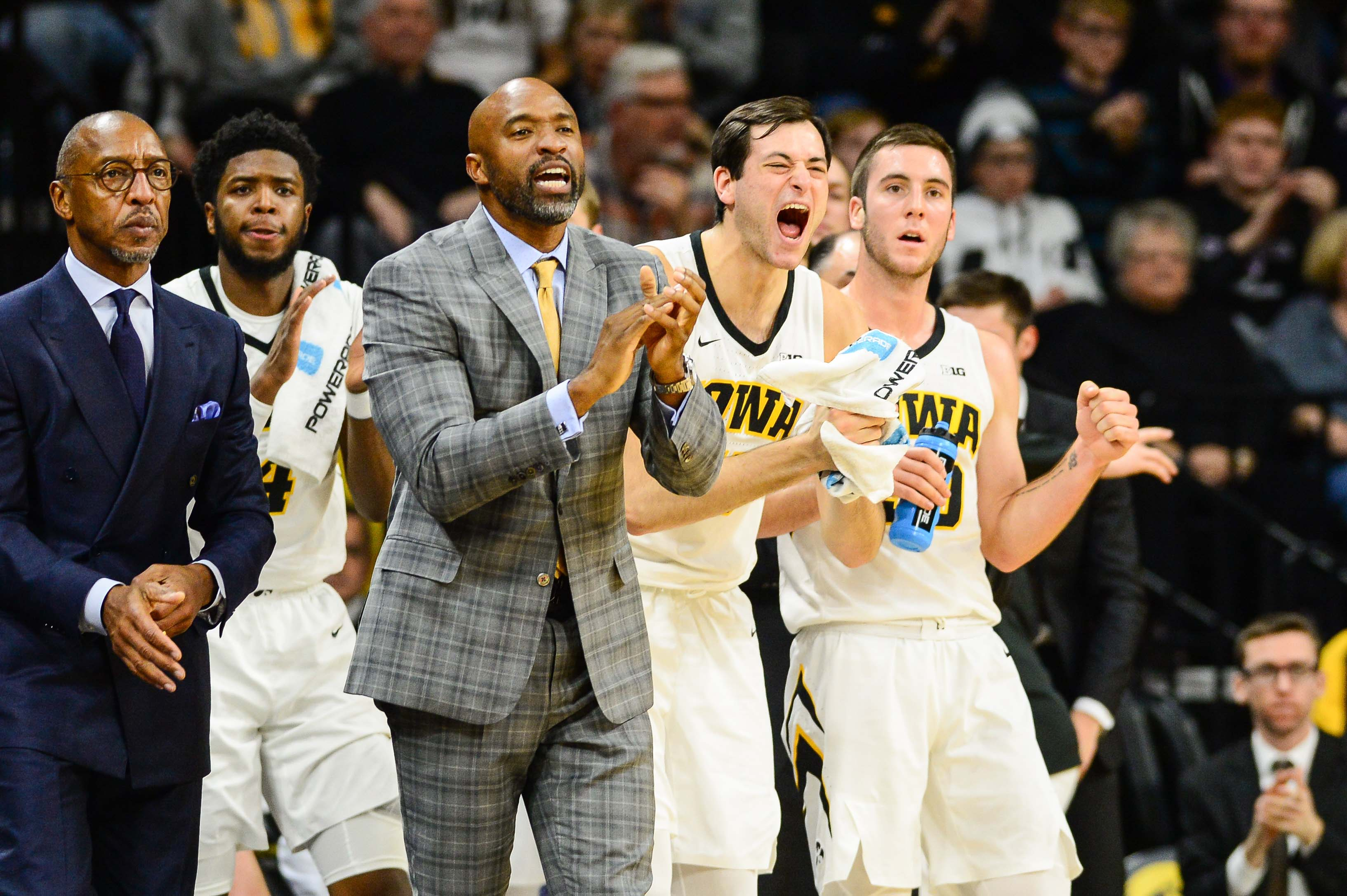 NCAA Basketball: Pittsburgh at Iowa