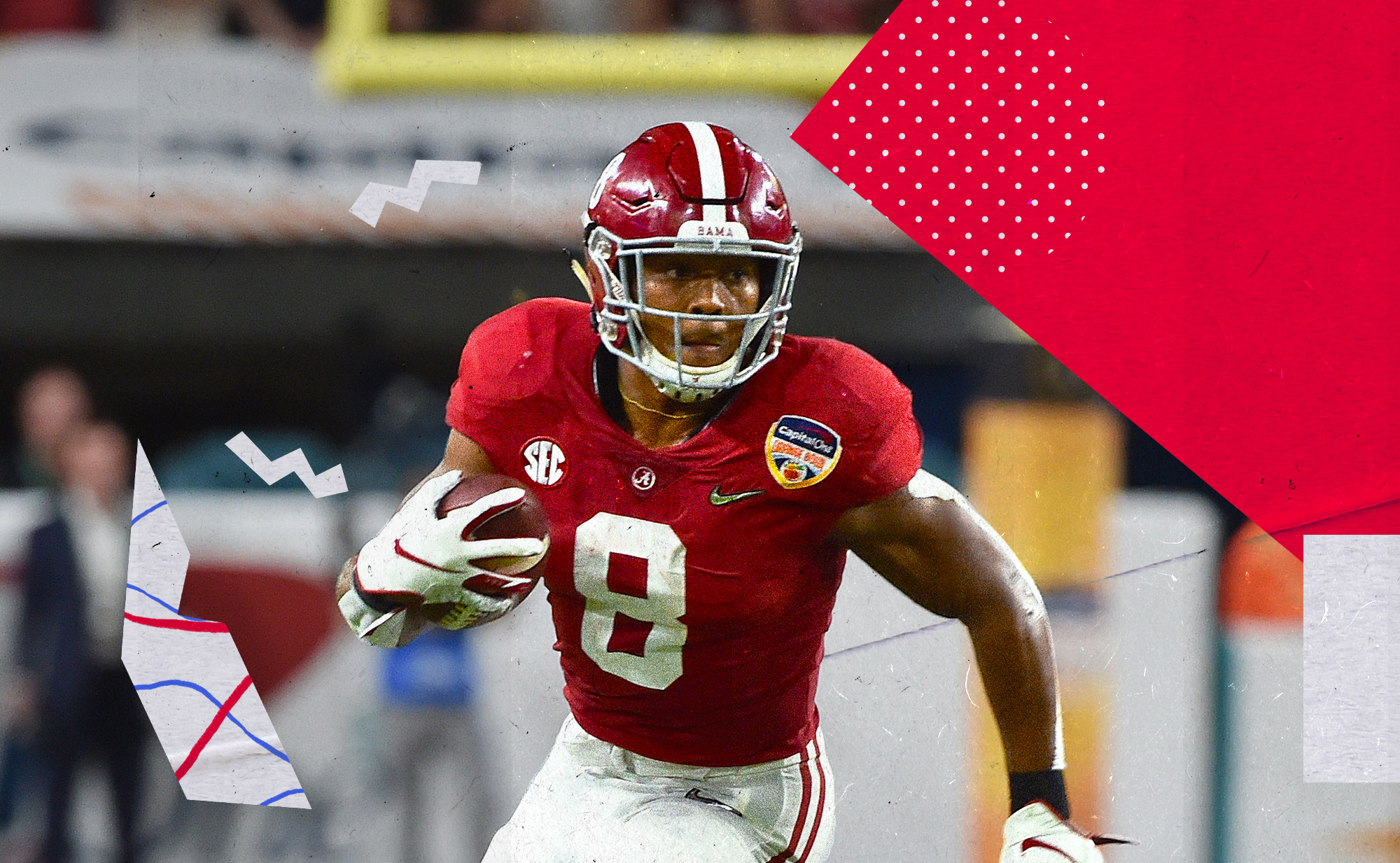 Why Josh Jacobs is an ideal running back for NFL team to draft in 2019